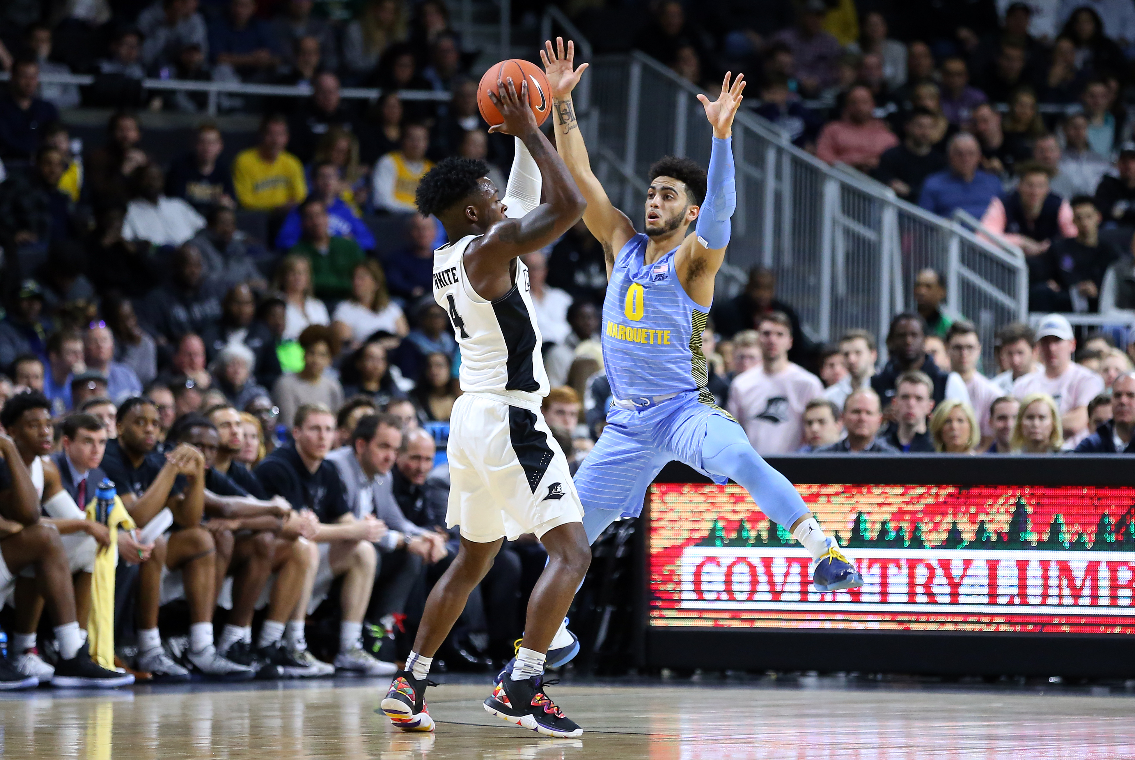 COLLEGE BASKETBALL: FEB 23 Marquette at Providence