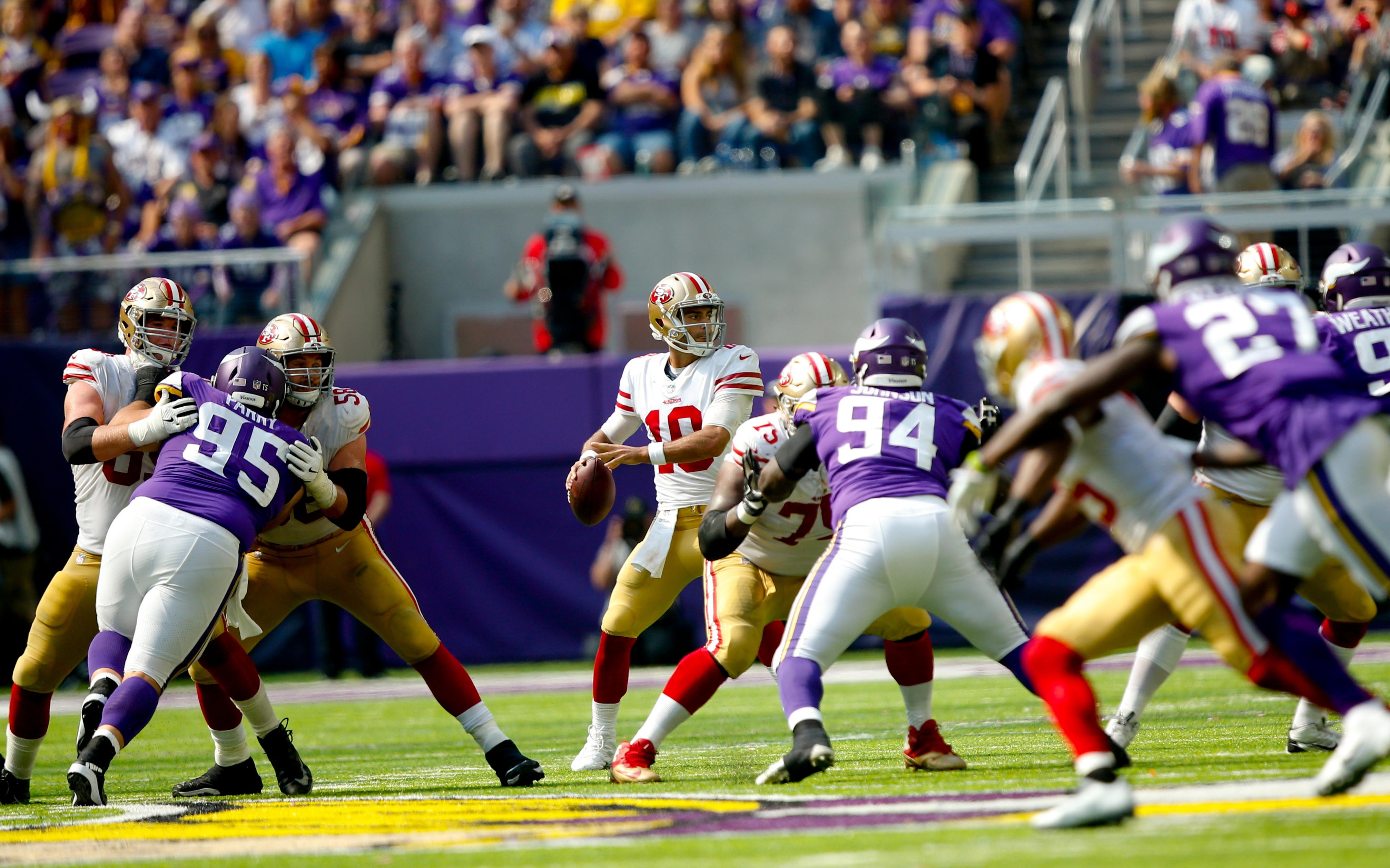 San Francisco 49ers v Minnesota Vikings