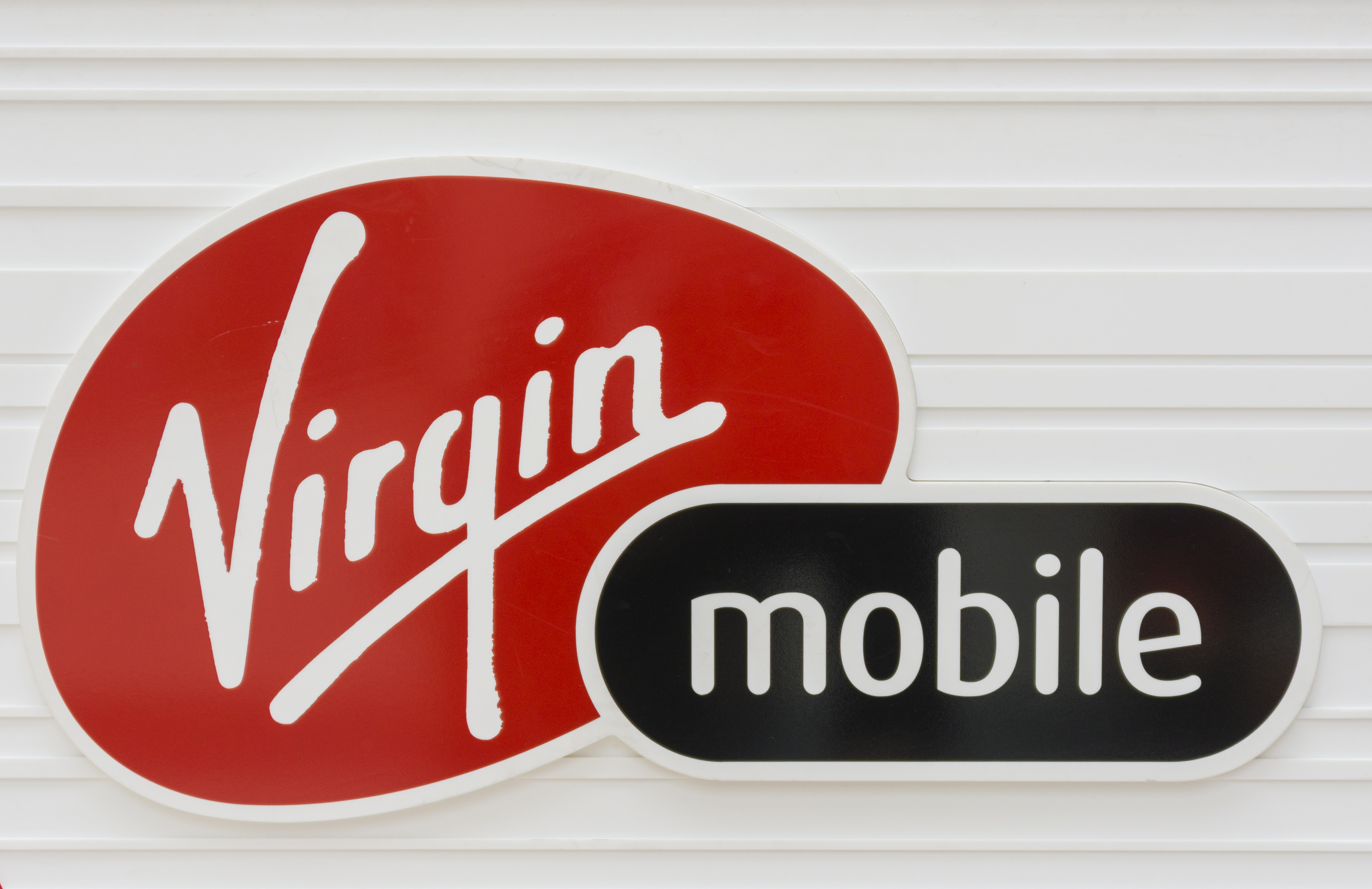 Logo of the brand Virgin Mobile. Virgin Mobile is a wireless...