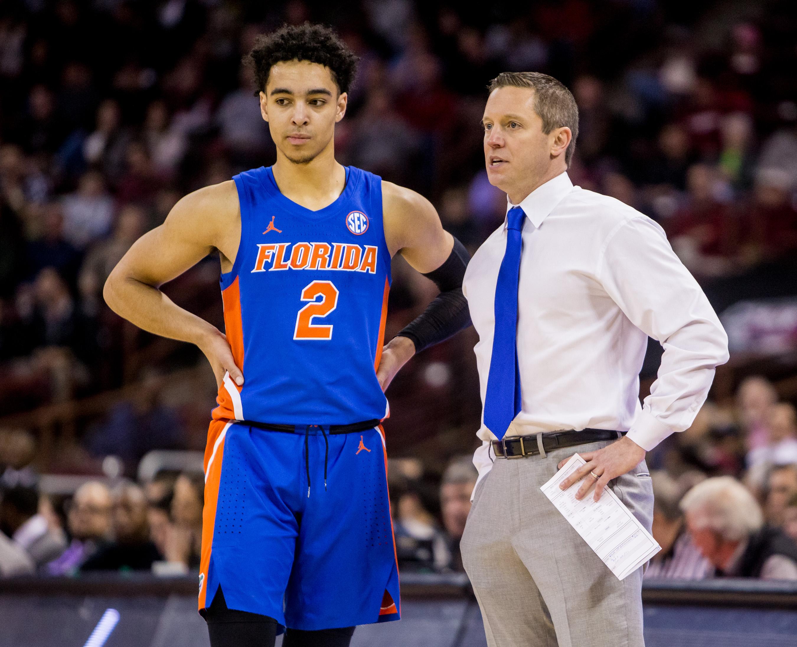 NCAA Basketball: Florida at South Carolina