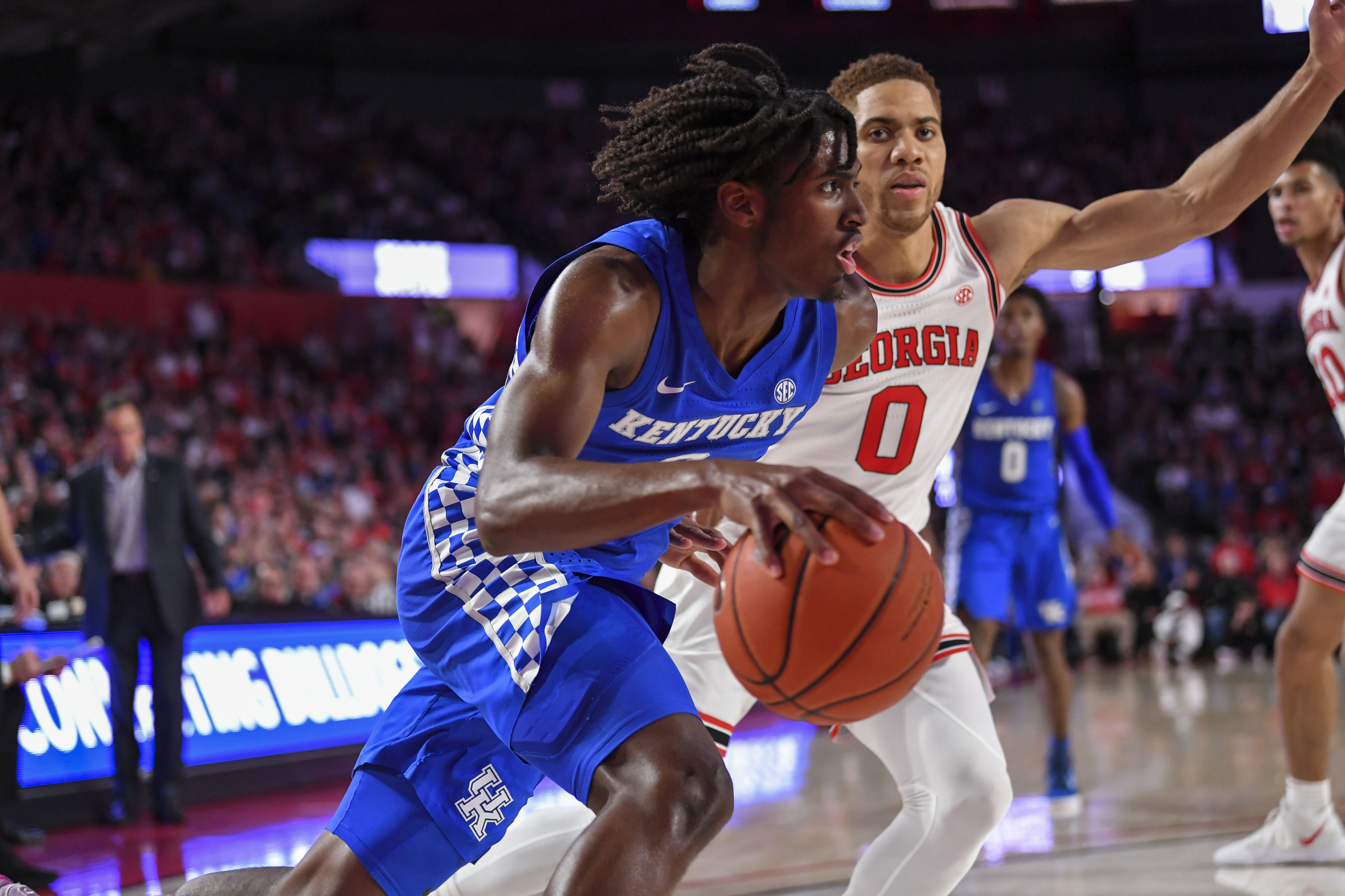 NCAA Basketball: Kentucky at Georgia