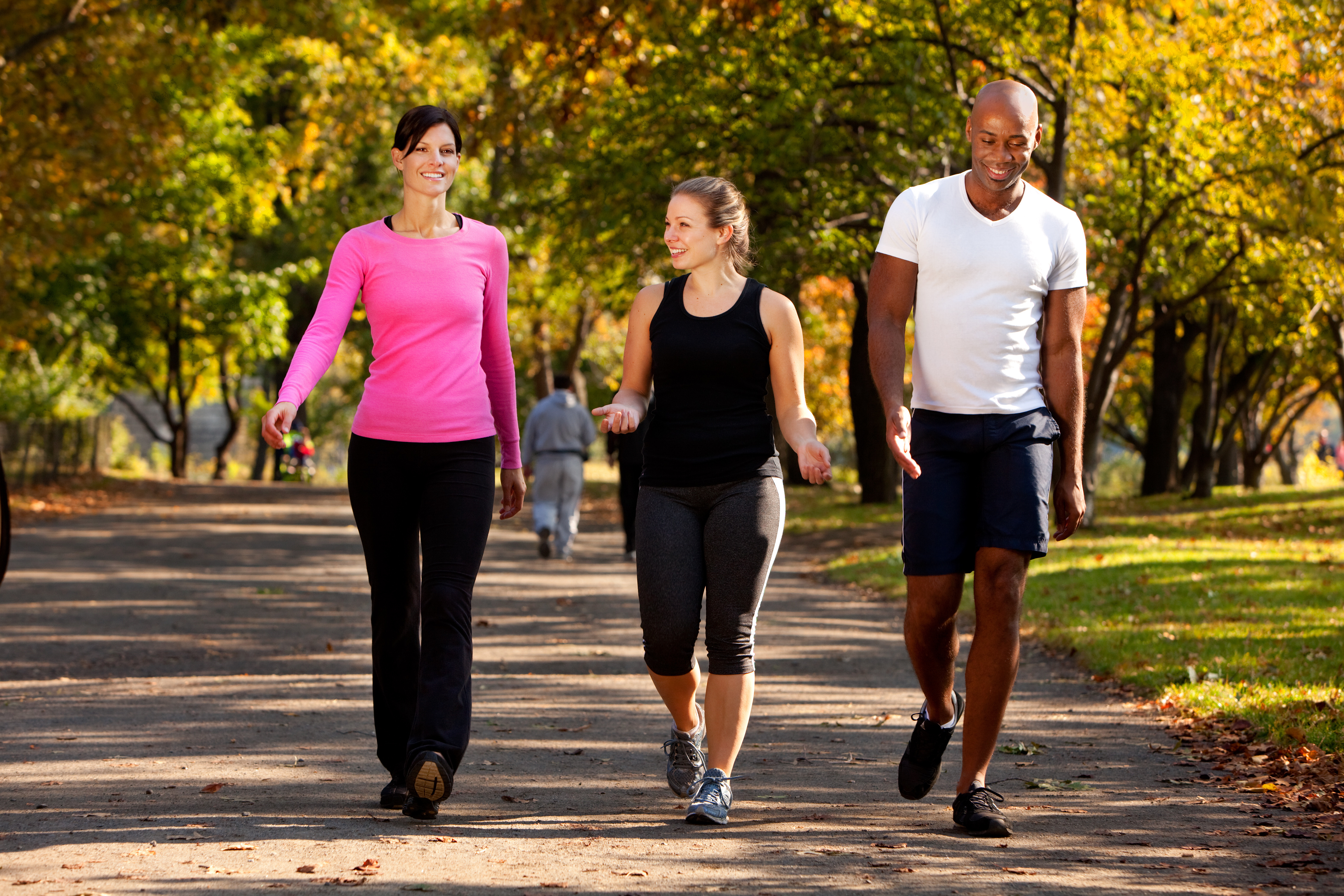 You'll meet health guidelines by walking 10,000 steps a day — but that's not an absolute goal for everyone. On expert suggests walking 2,000 more steps than the usual 4,000 to 5,000 steps the average American walks every day.