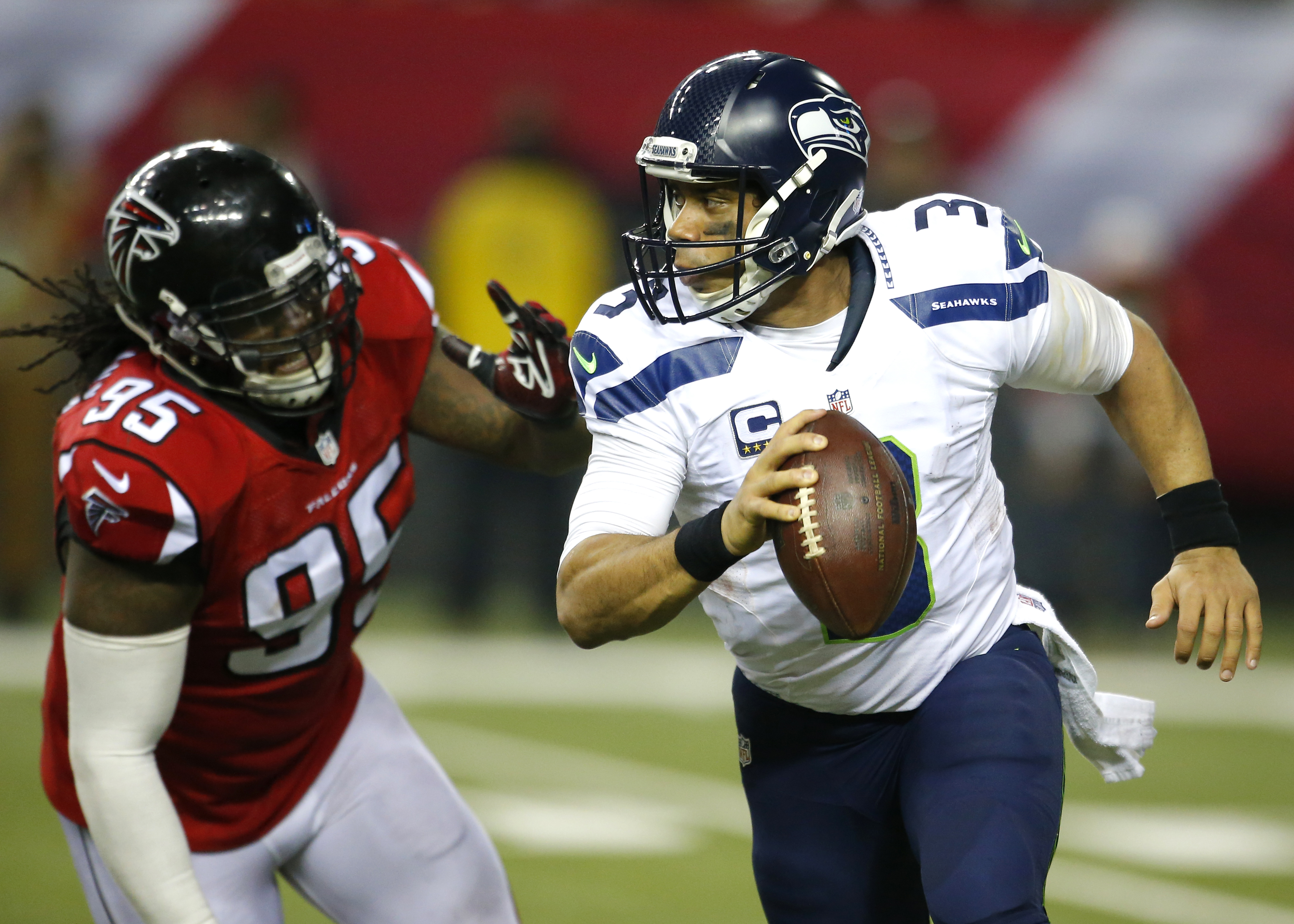 NFL: JAN 14 NFC Divisional Playoff - Seahawks at Falcons