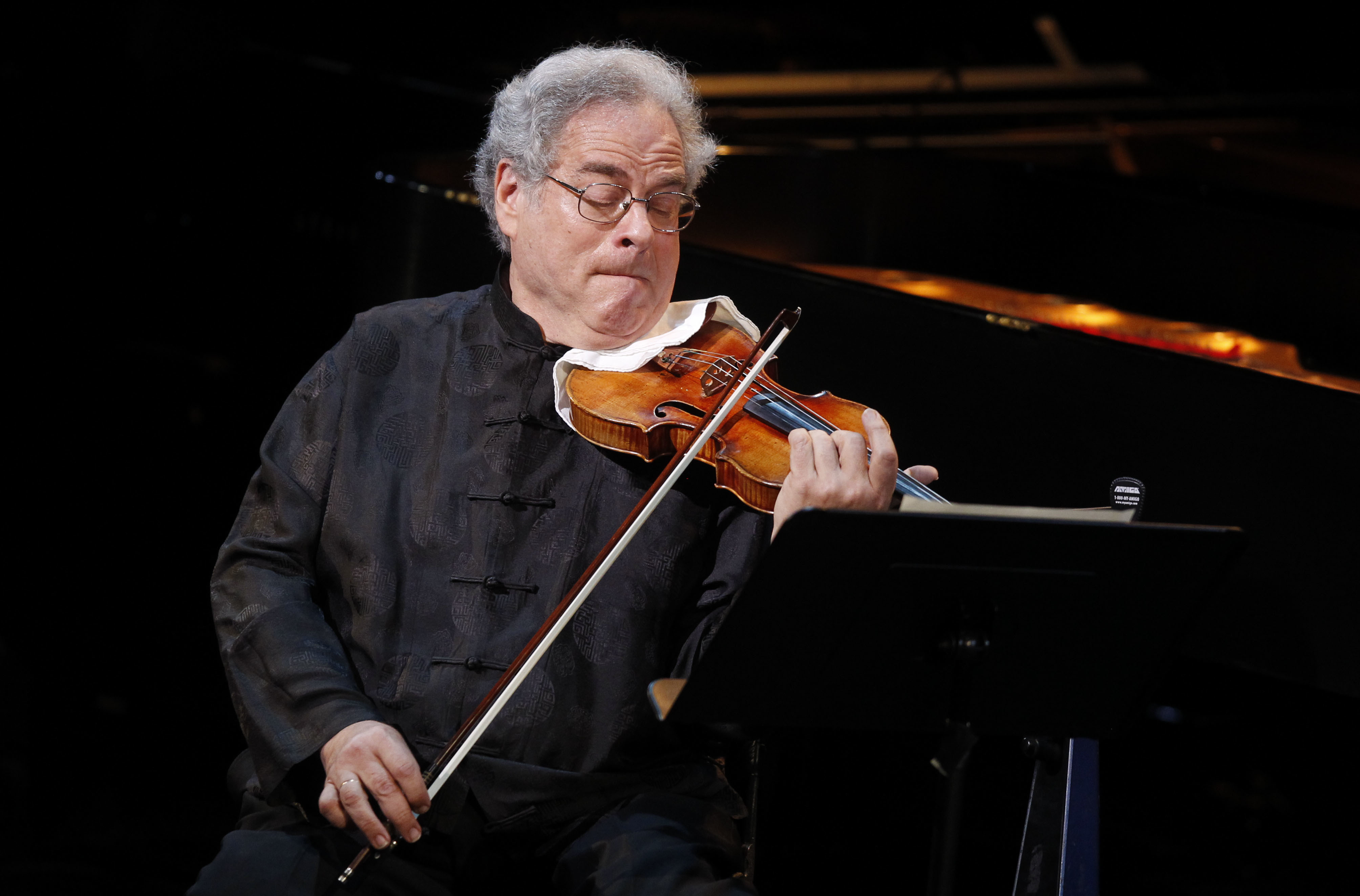 Itzhak Perlman performs during A Tribute to Marvin Hamlisch, a memorial concert, at the Juilliard School's Peter Jay Sharp Theater, Sept. 18, 2012 in New York. Perlman will perform Beethoven's Violin Concerto at Brigham Young University on Jan. 9, 2020.