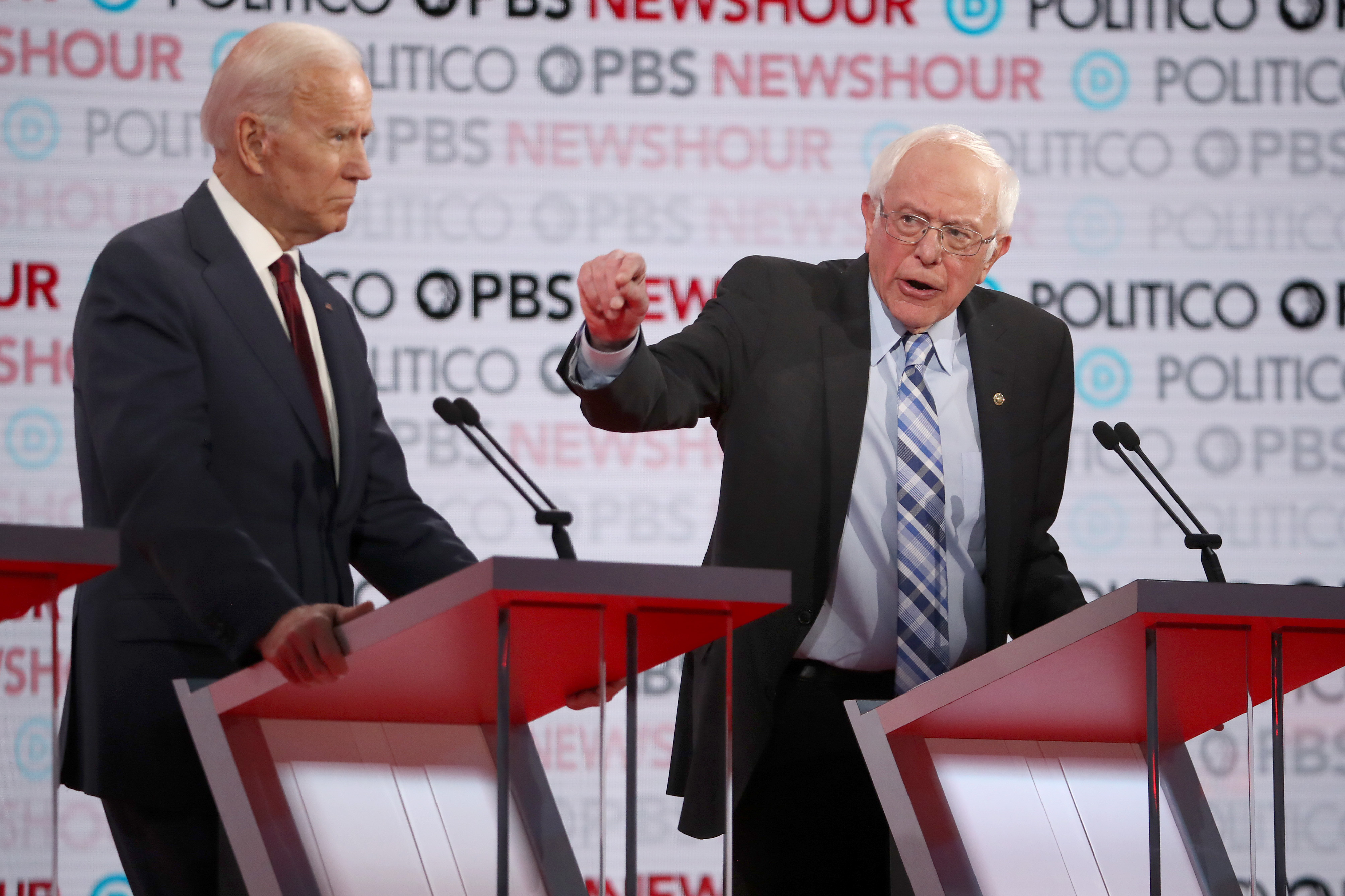 Trump's conflict with Iran exposed the real difference between Biden and Sanders
