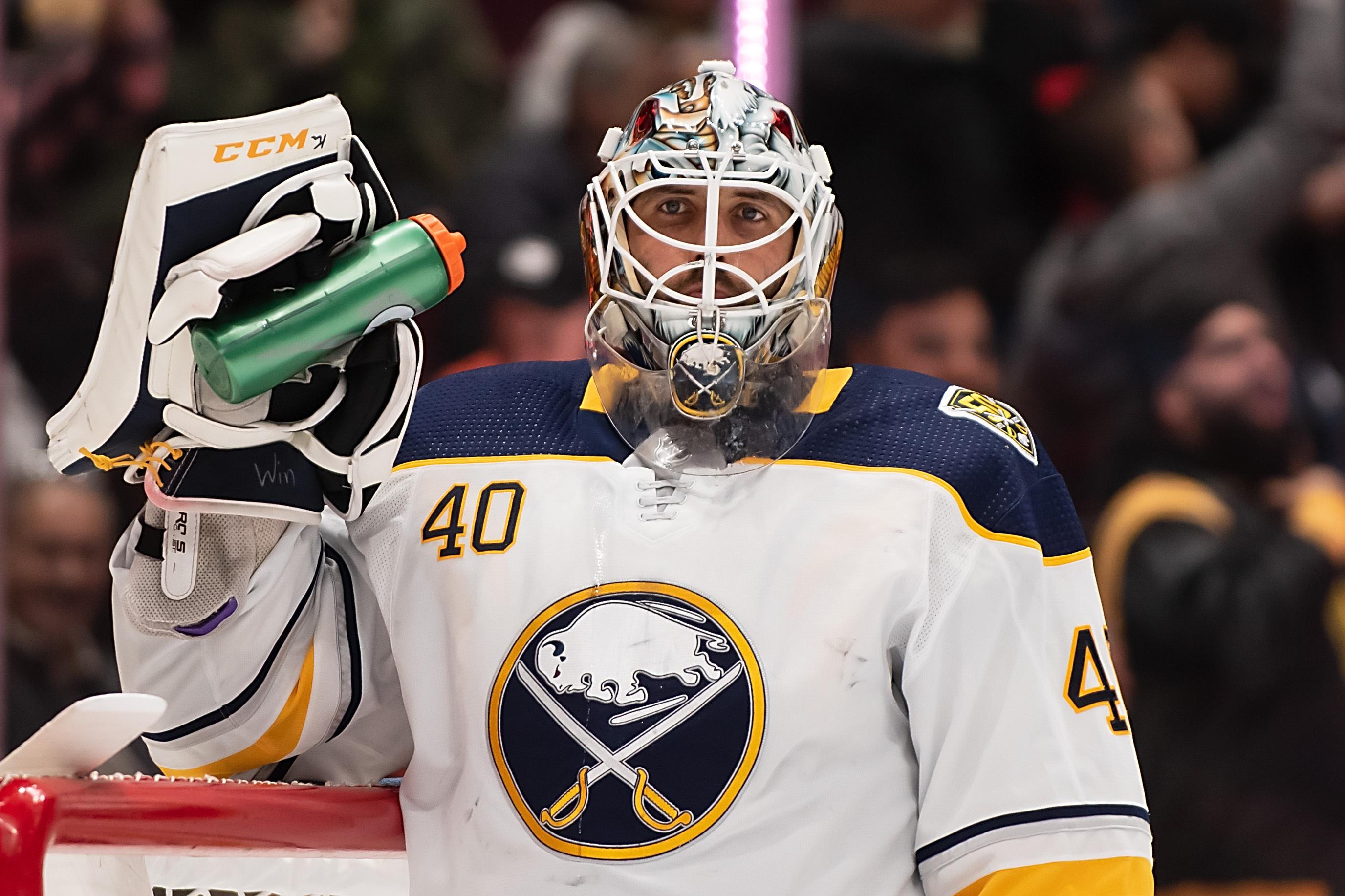 NHL: Buffalo Sabres at Vancouver Canucks