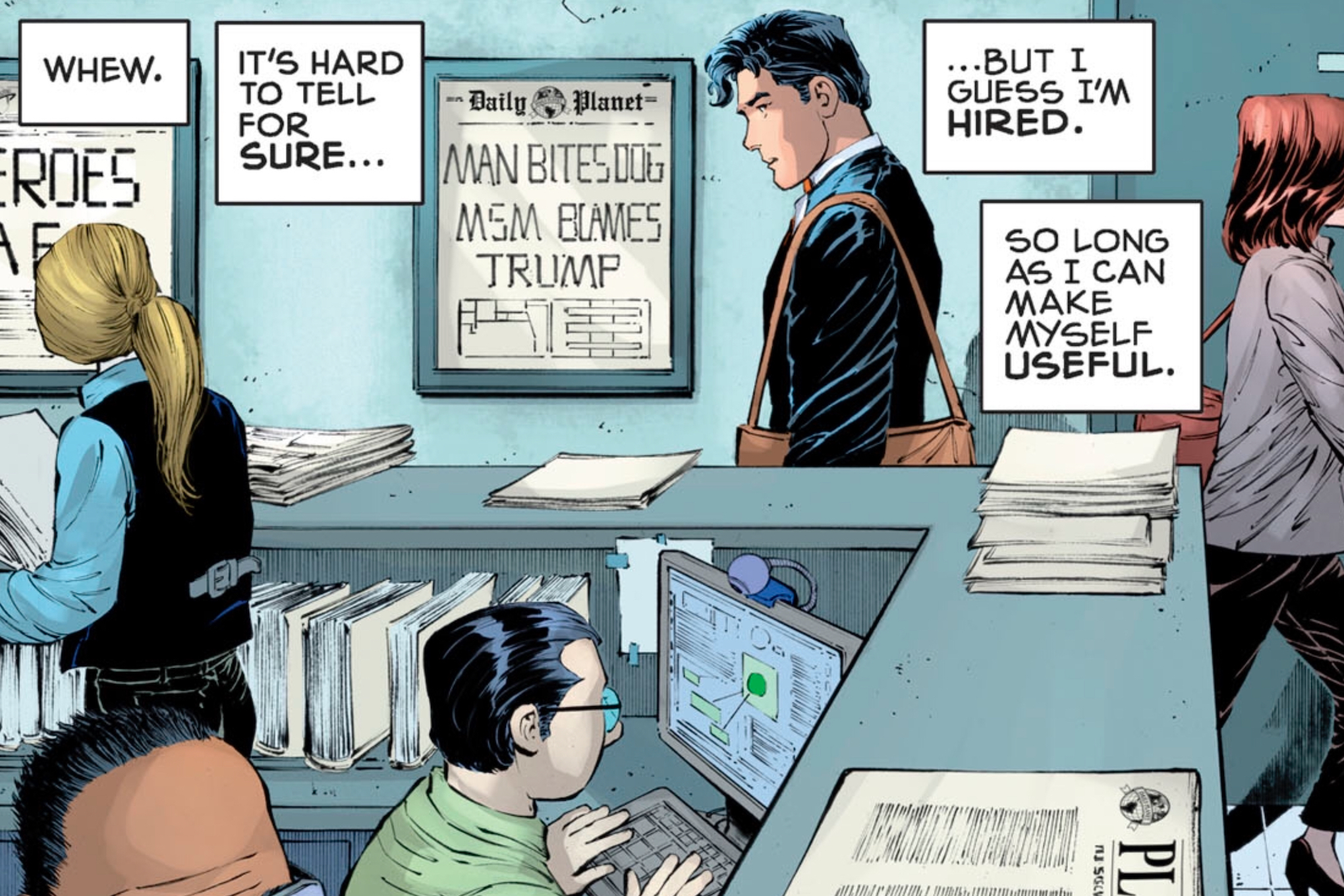 The divide between Marvel and DC over politics
