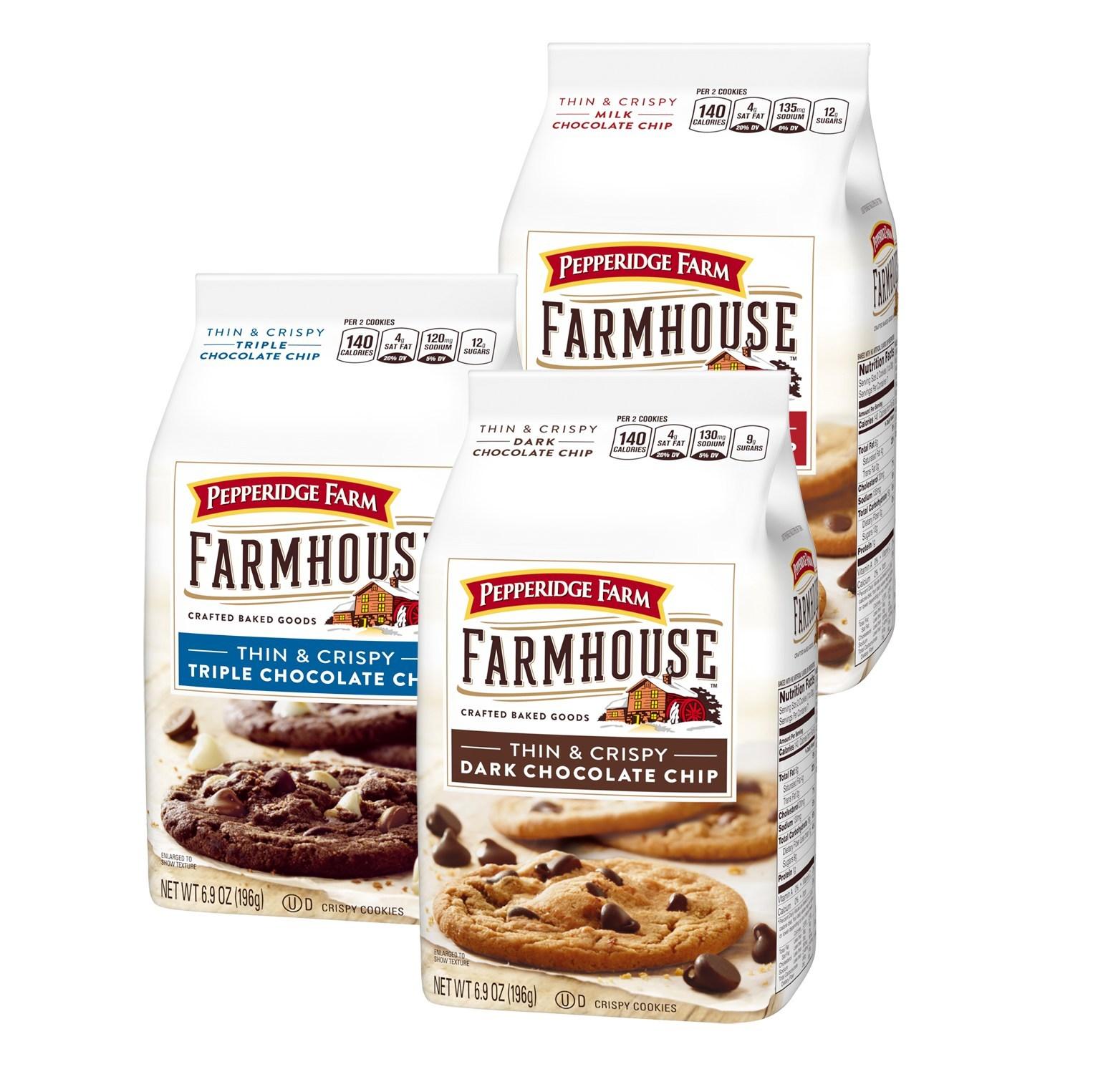 Pepperidge Farm's Farmhouse cookies line will now feature a gluten-free option.