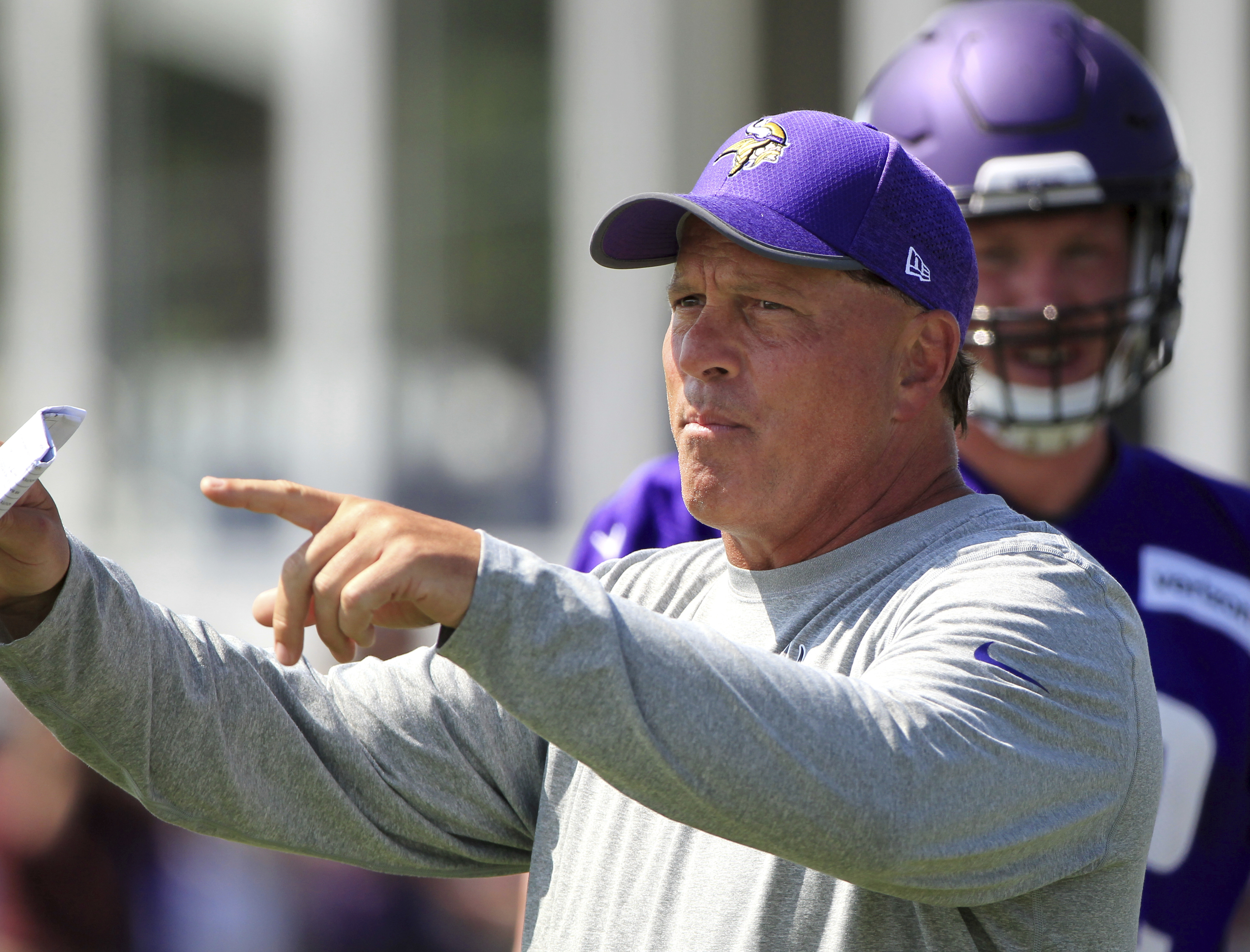 The Bears hired Clancy Barone as their new tight ends coach.