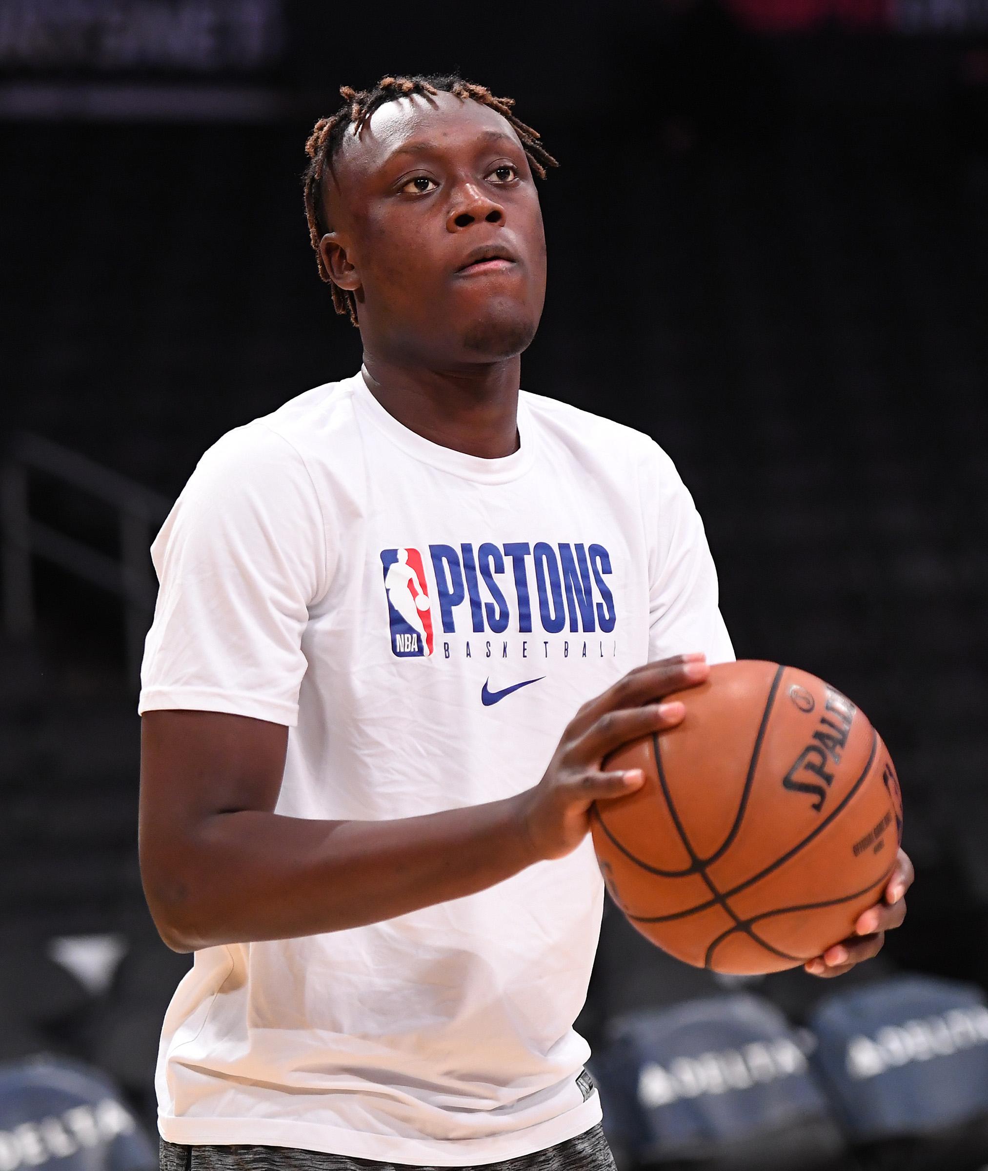 NBA: Detroit Pistons at Los Angeles Lakers