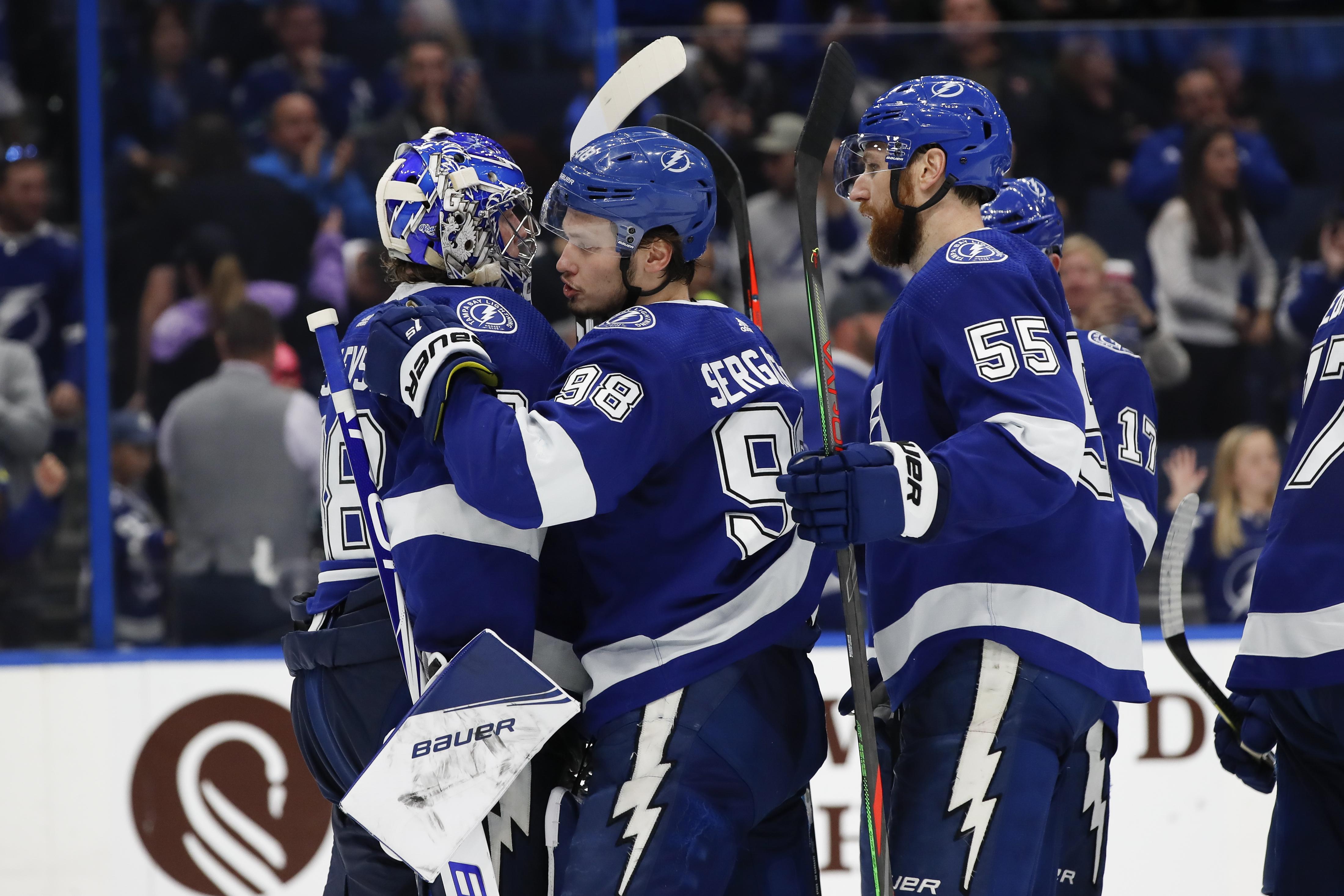 NHL: JAN 07 Canucks at Lightning