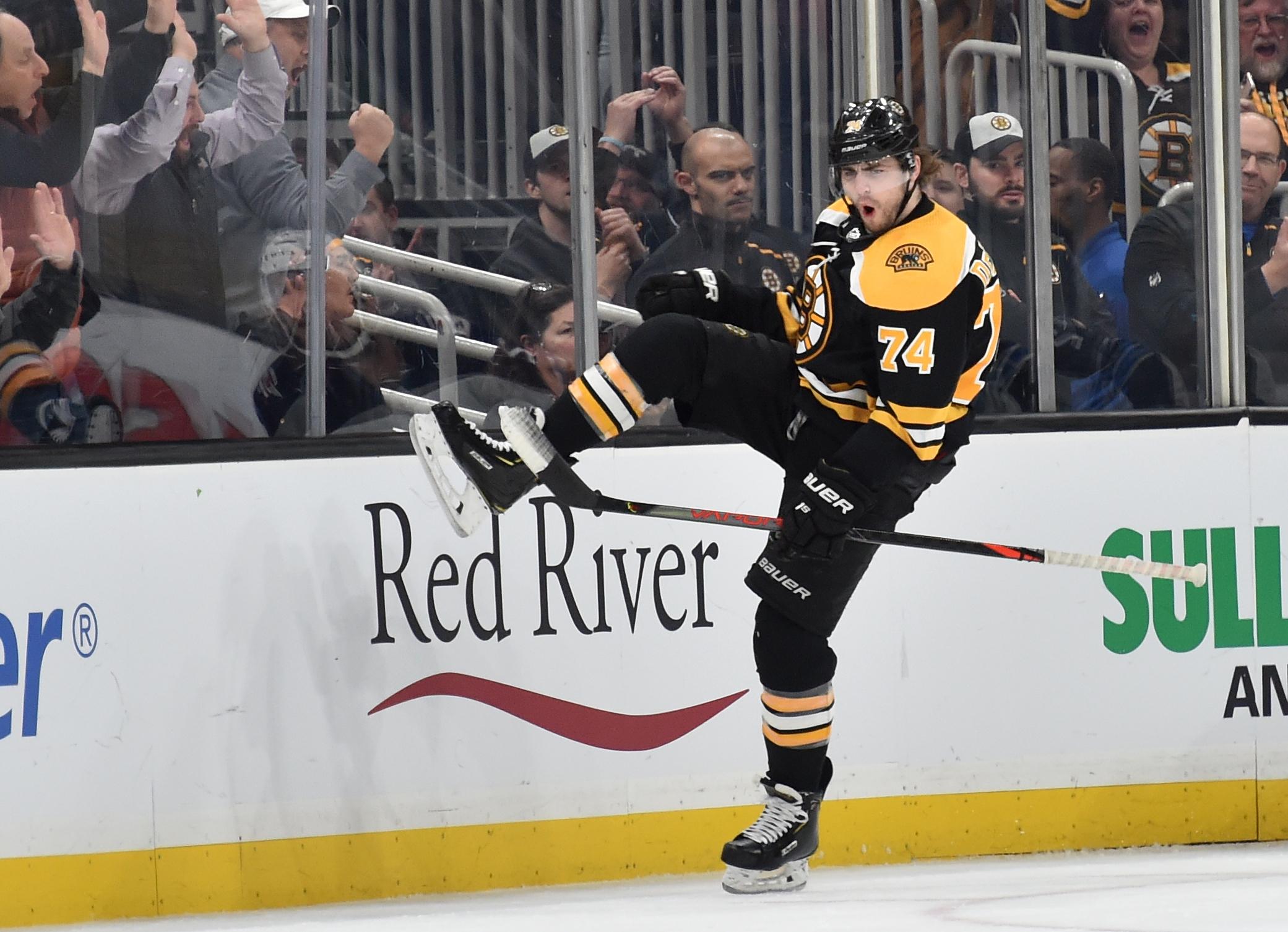 NHL: Boston Bruins vs Winnipeg Jets