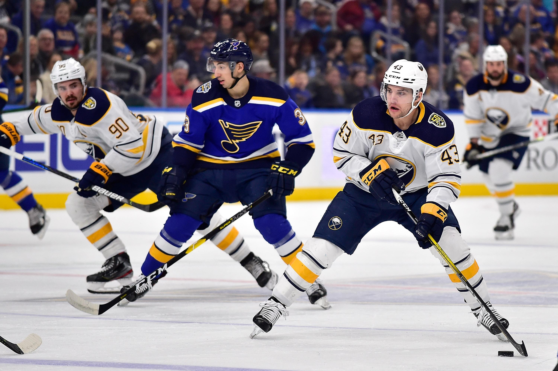 NHL: Buffalo Sabres at St. Louis Blues