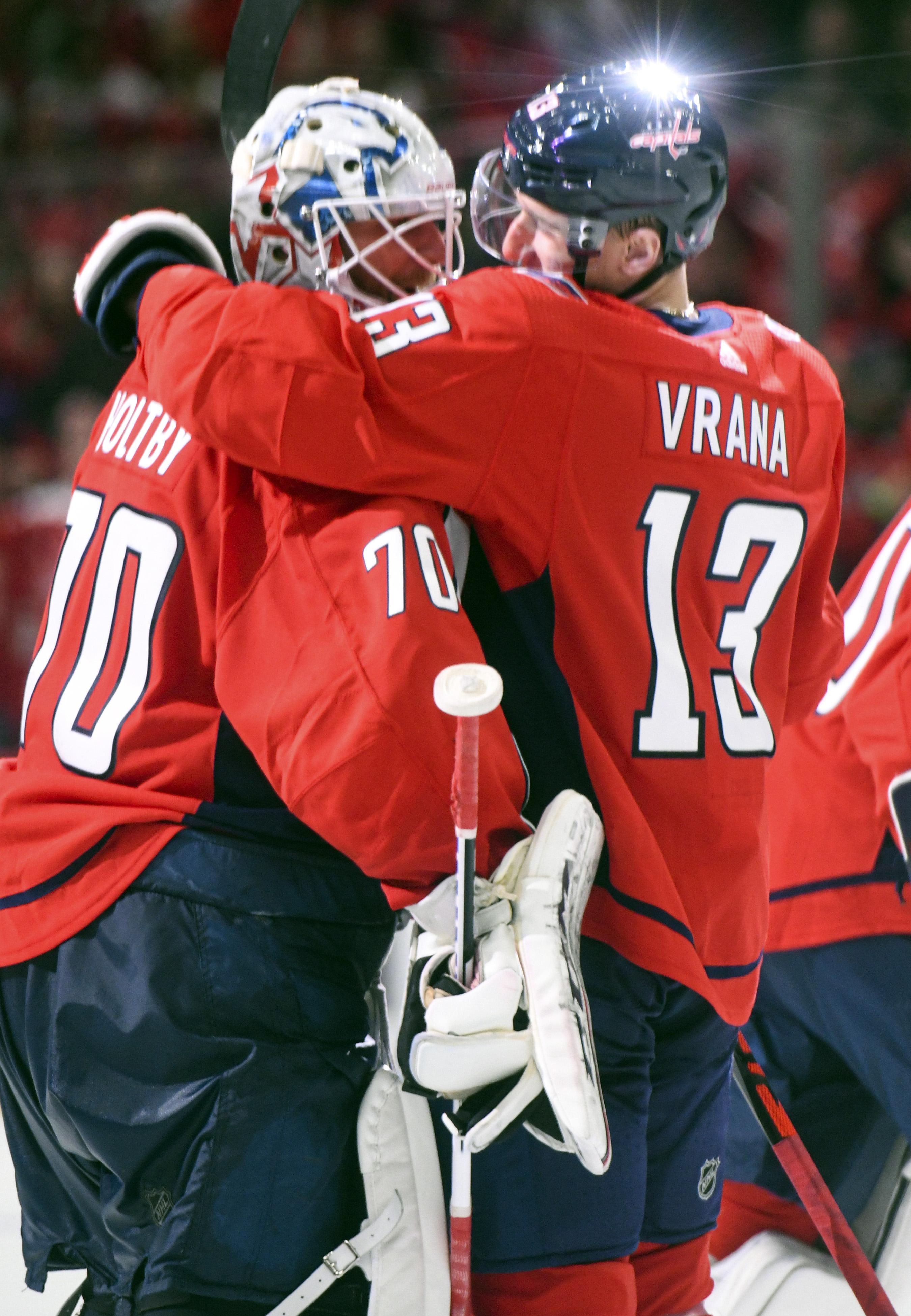 NHL: JAN 05 Sharks at Capitals