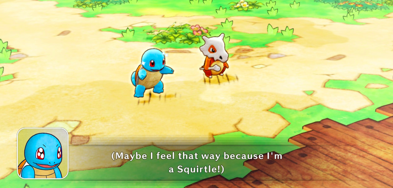 Pokémon Mystery Dungeon's demo dragged me, and I'm grateful for it