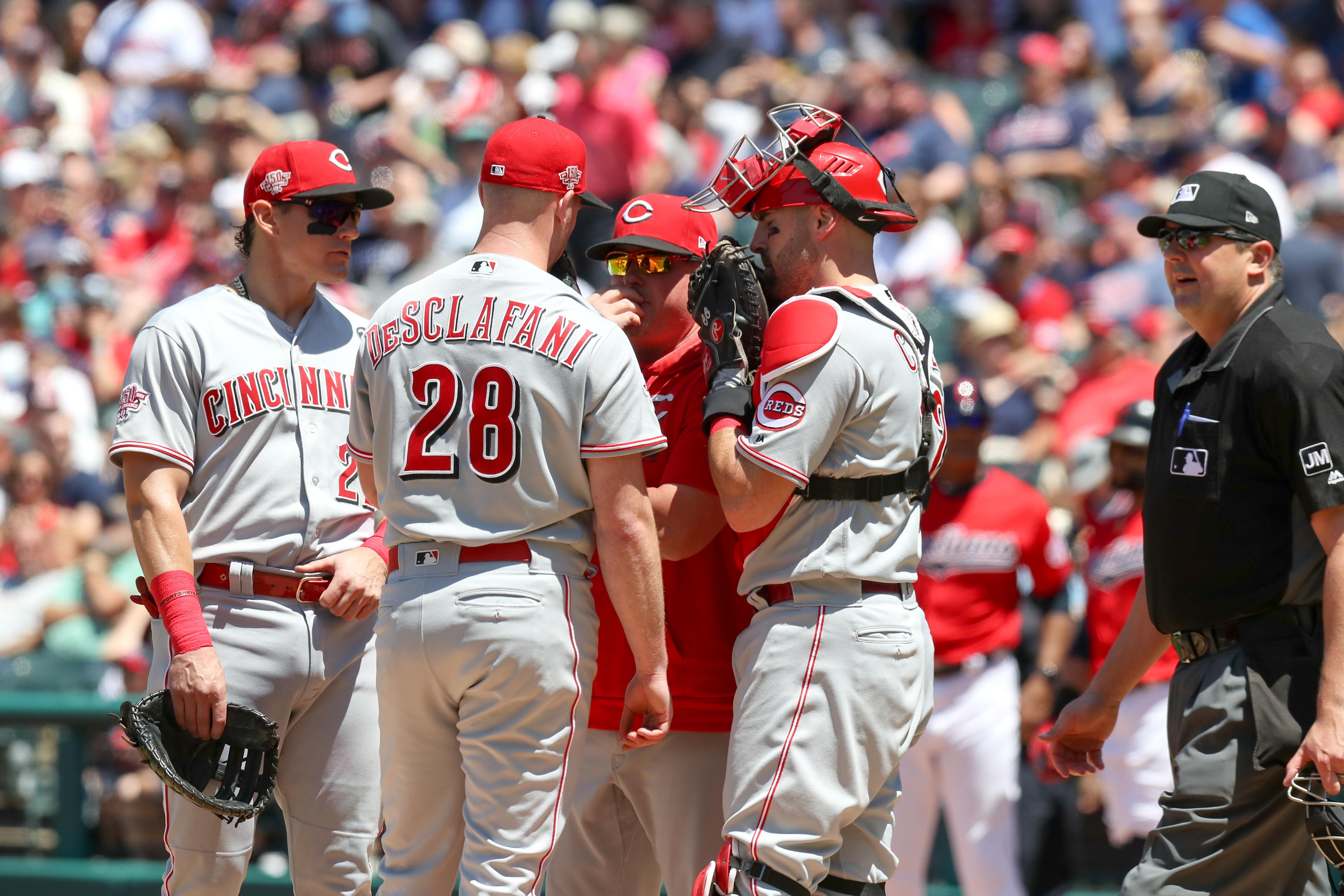 MLB: JUN 12 Reds at Indians