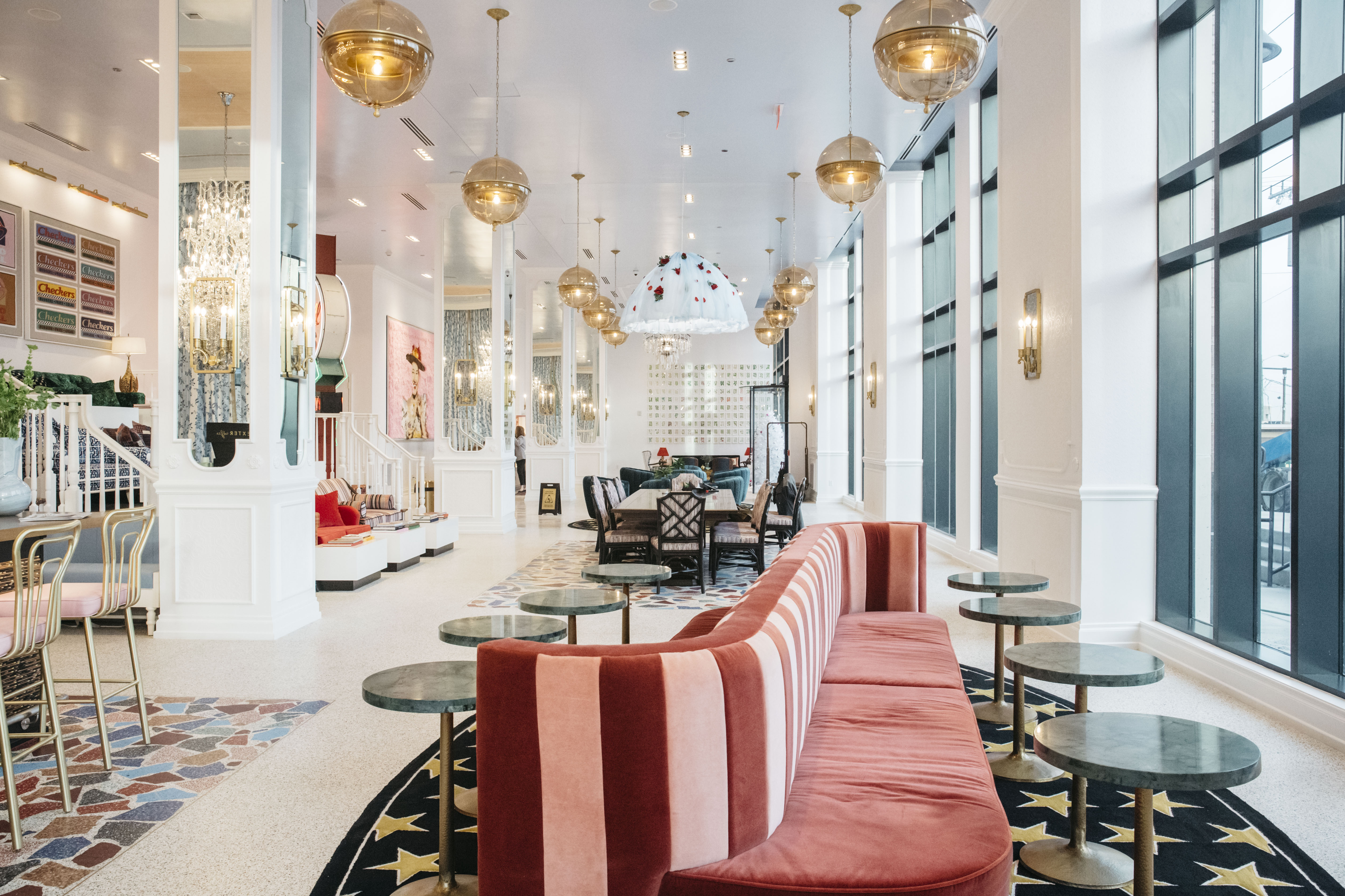 Grandma-Chic and Glorious, Graduate Is One of Nashville's Most Visually Interesting Hotels