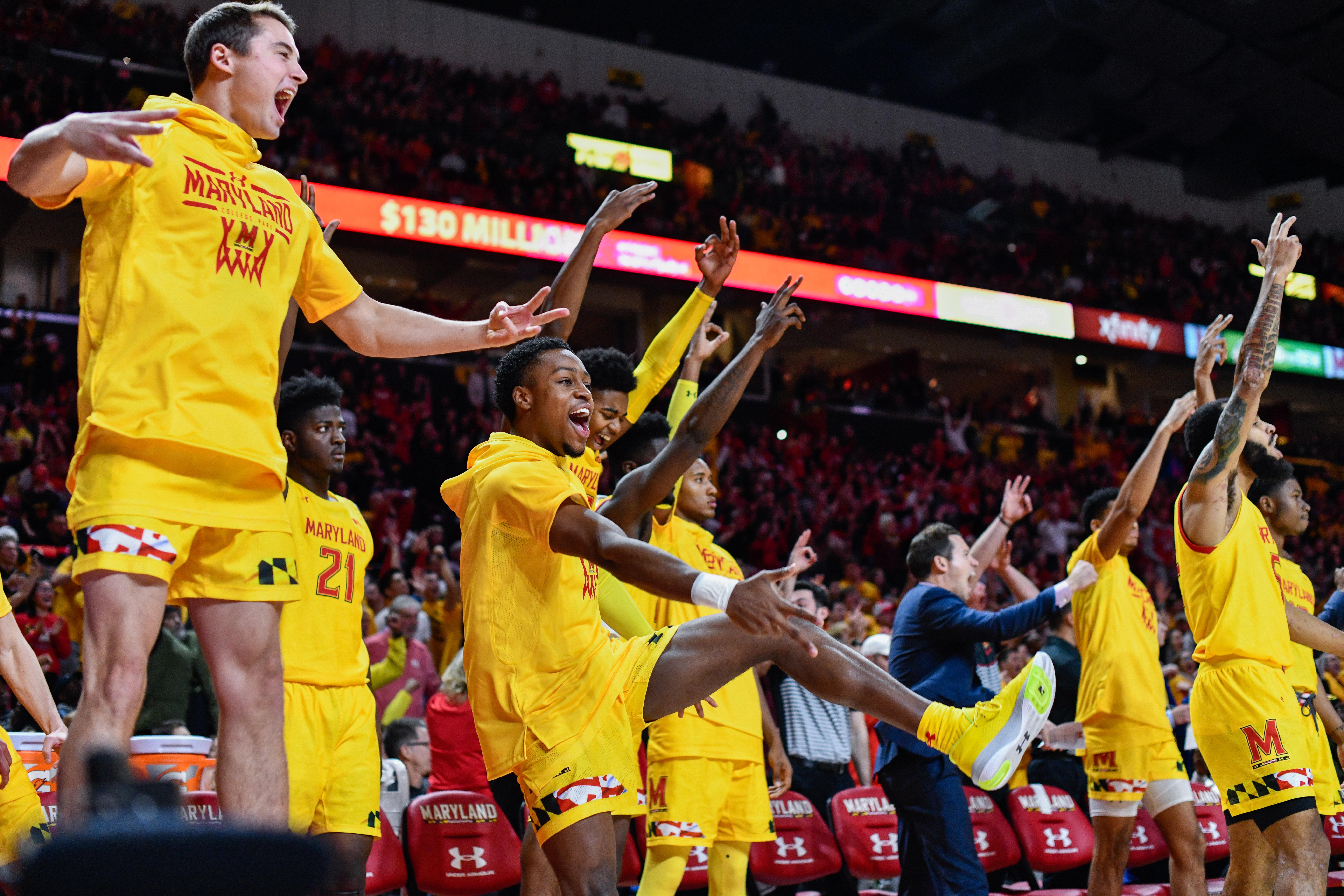 Illinois, Maryland basketball