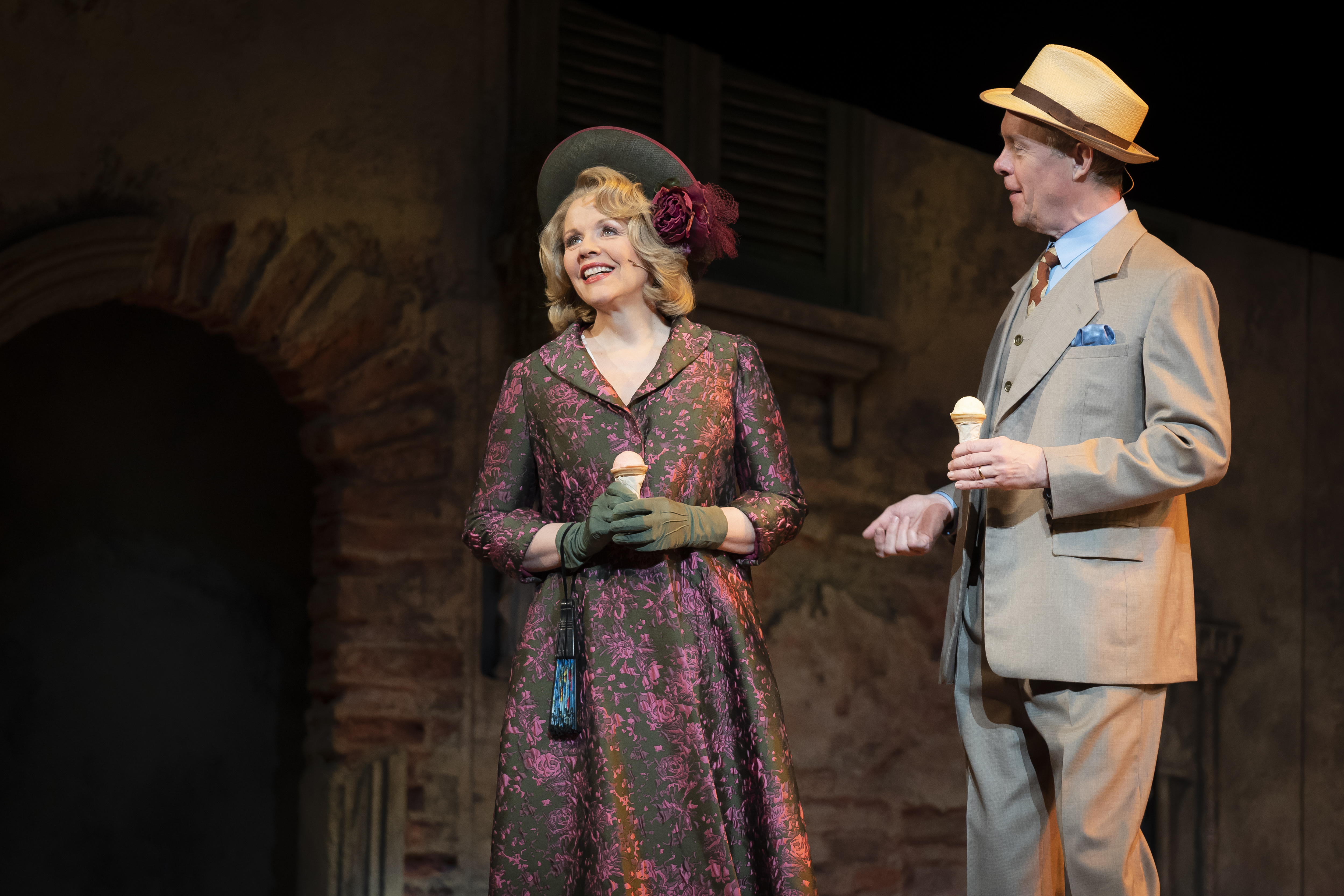 2_Renée Fleming and Alex Jennings in the ScenarioTwo production of The Light in the Piazza at Lyric Opera House in Chicago.Credit Liz Lauren