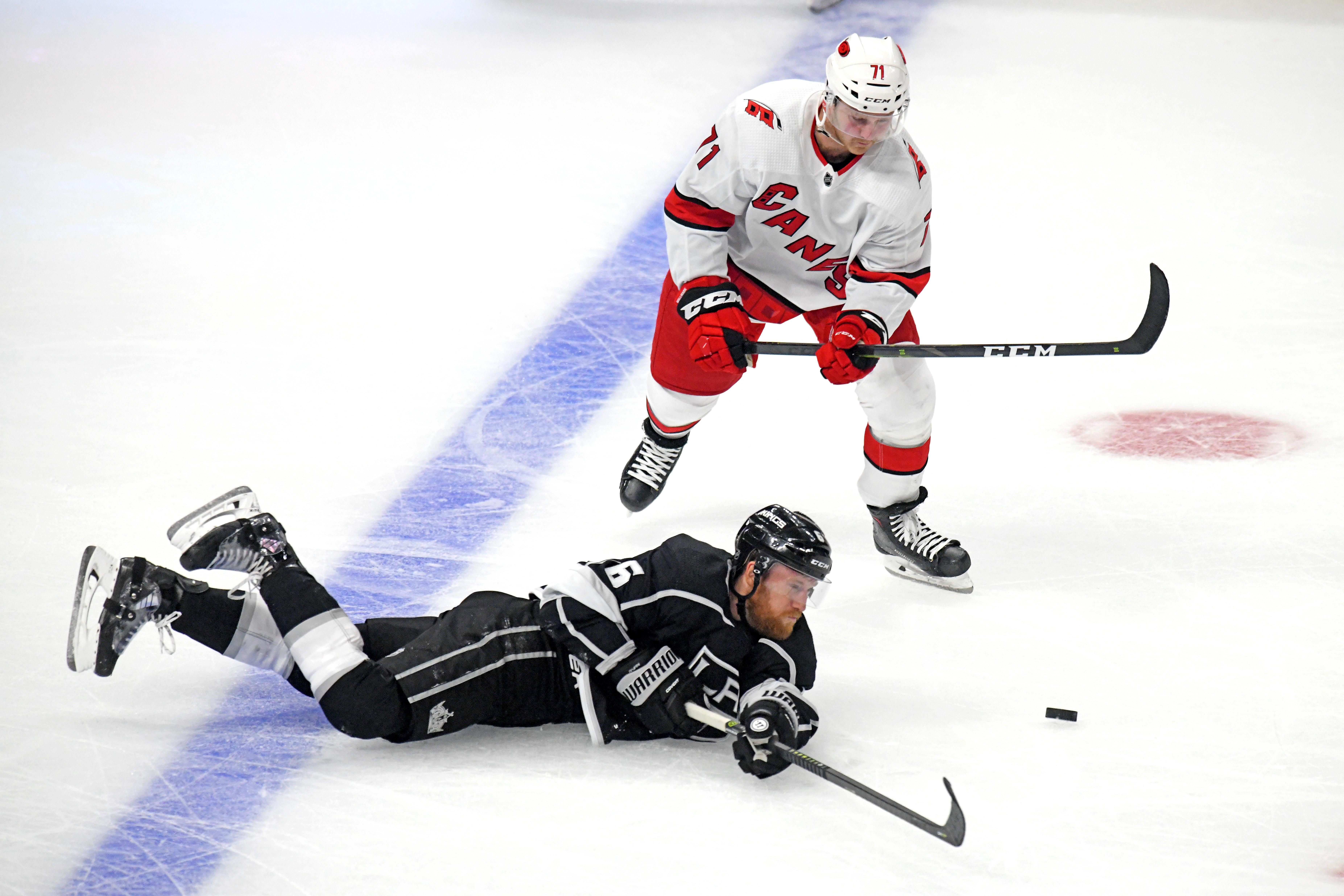 NHL: OCT 15 Hurricanes at Kings