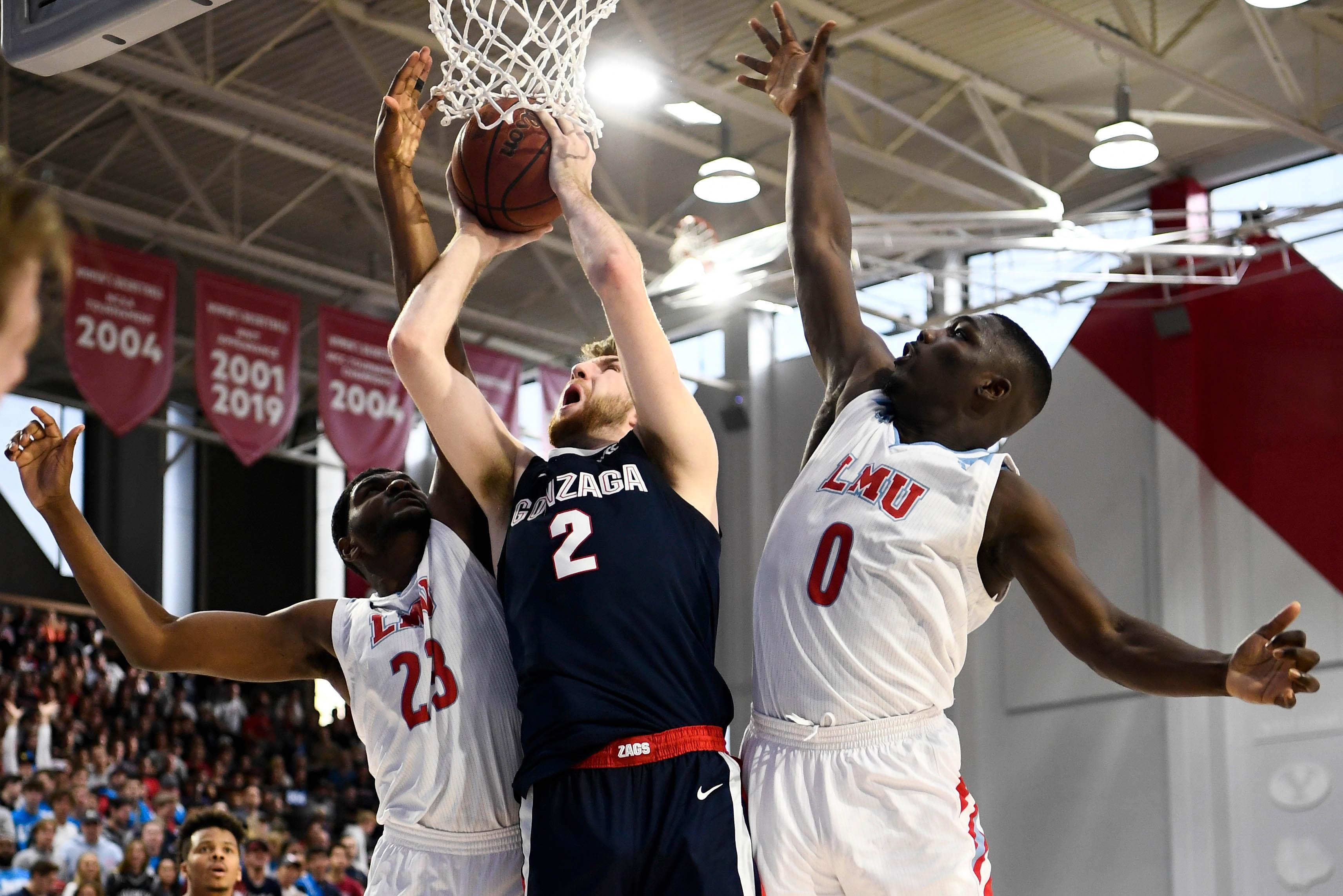 NCAA Basketball: Gonzaga at Loyola Marymount