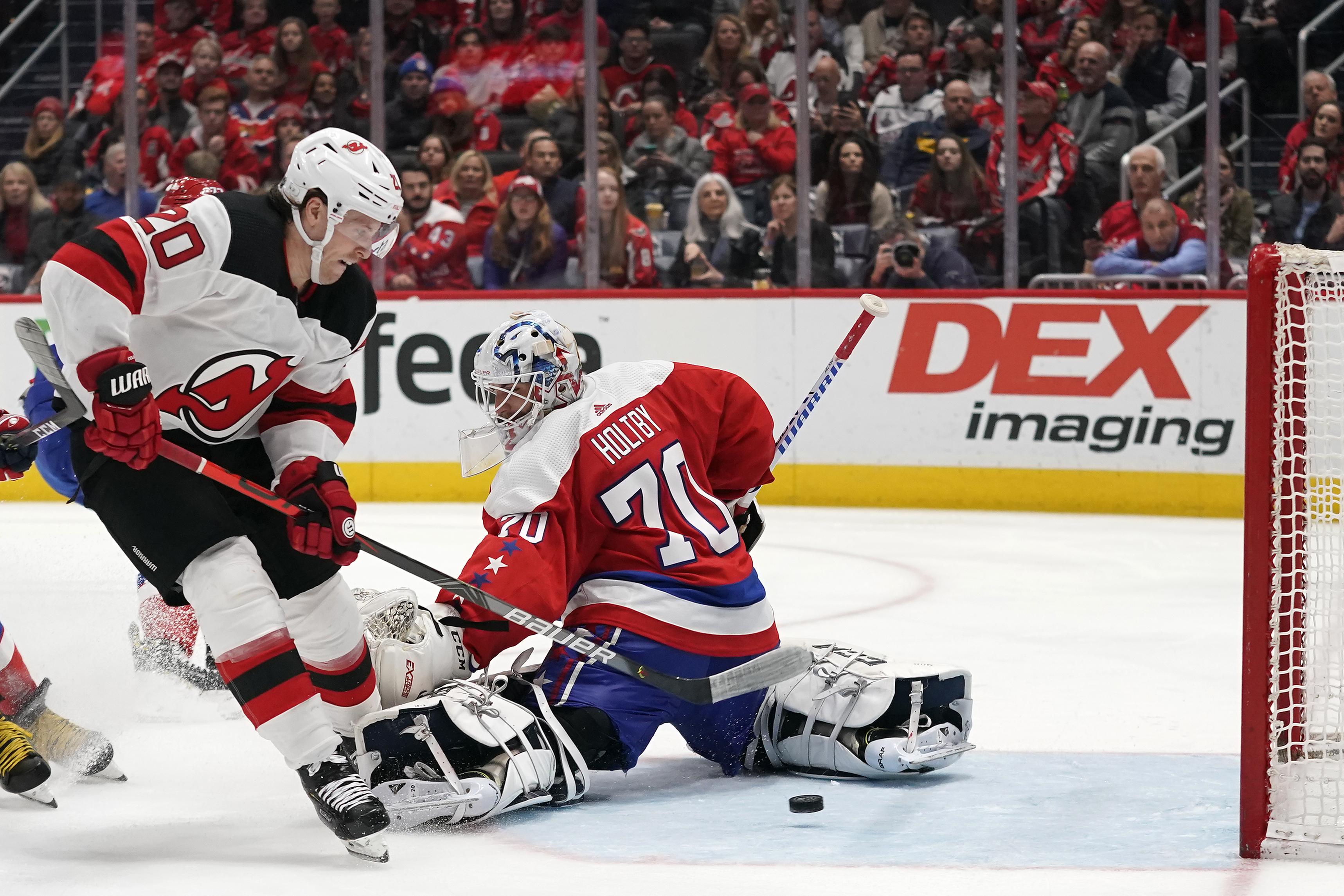 New Jersey Devils v Washington Capitals