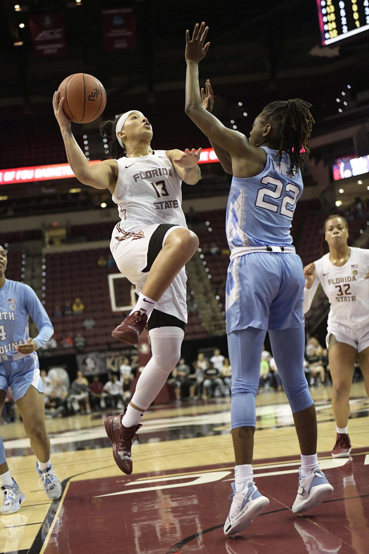 COLLEGE BASKETBALL: JAN 12 Women's North Carolina at Florida State