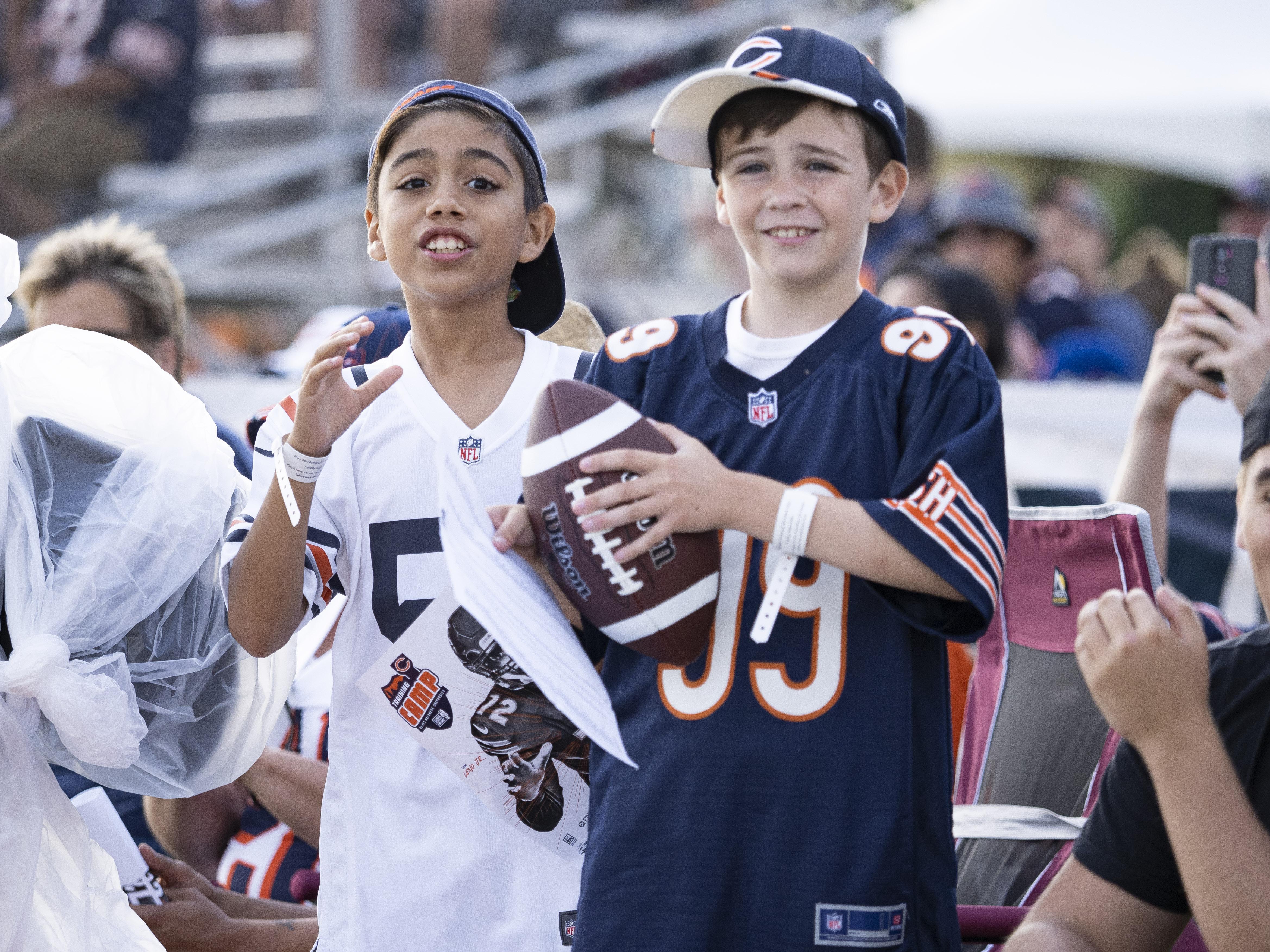 NFL: AUG 06 Bears Training Camp