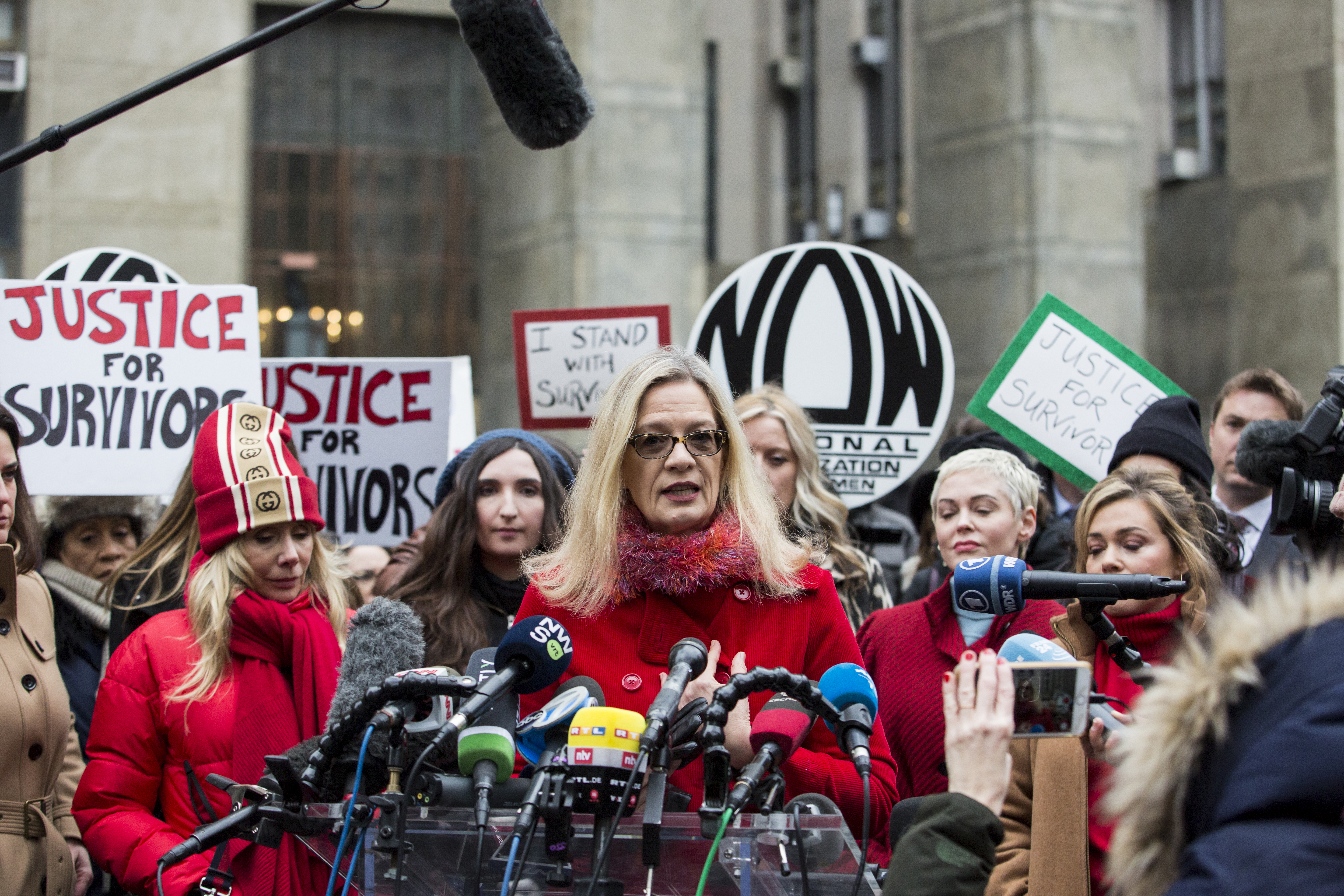 I was preyed on by Harvey Weinstein. Here's how survivors can get through his trial.