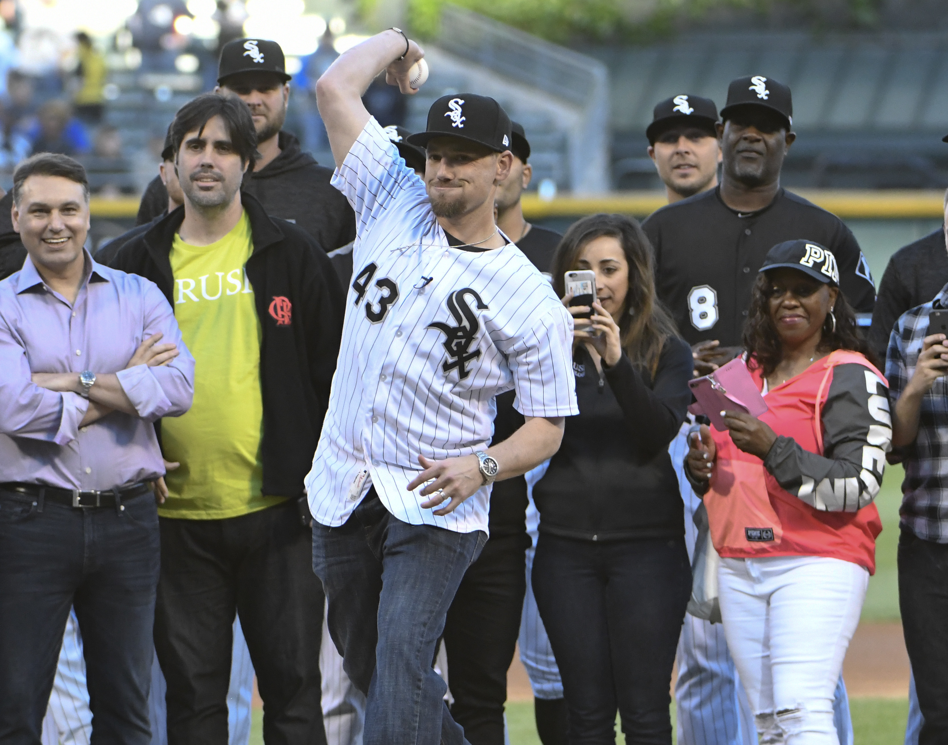 Danny Farquhar was named pitching coach for the White Sox' Class A team at Winston-Salem.