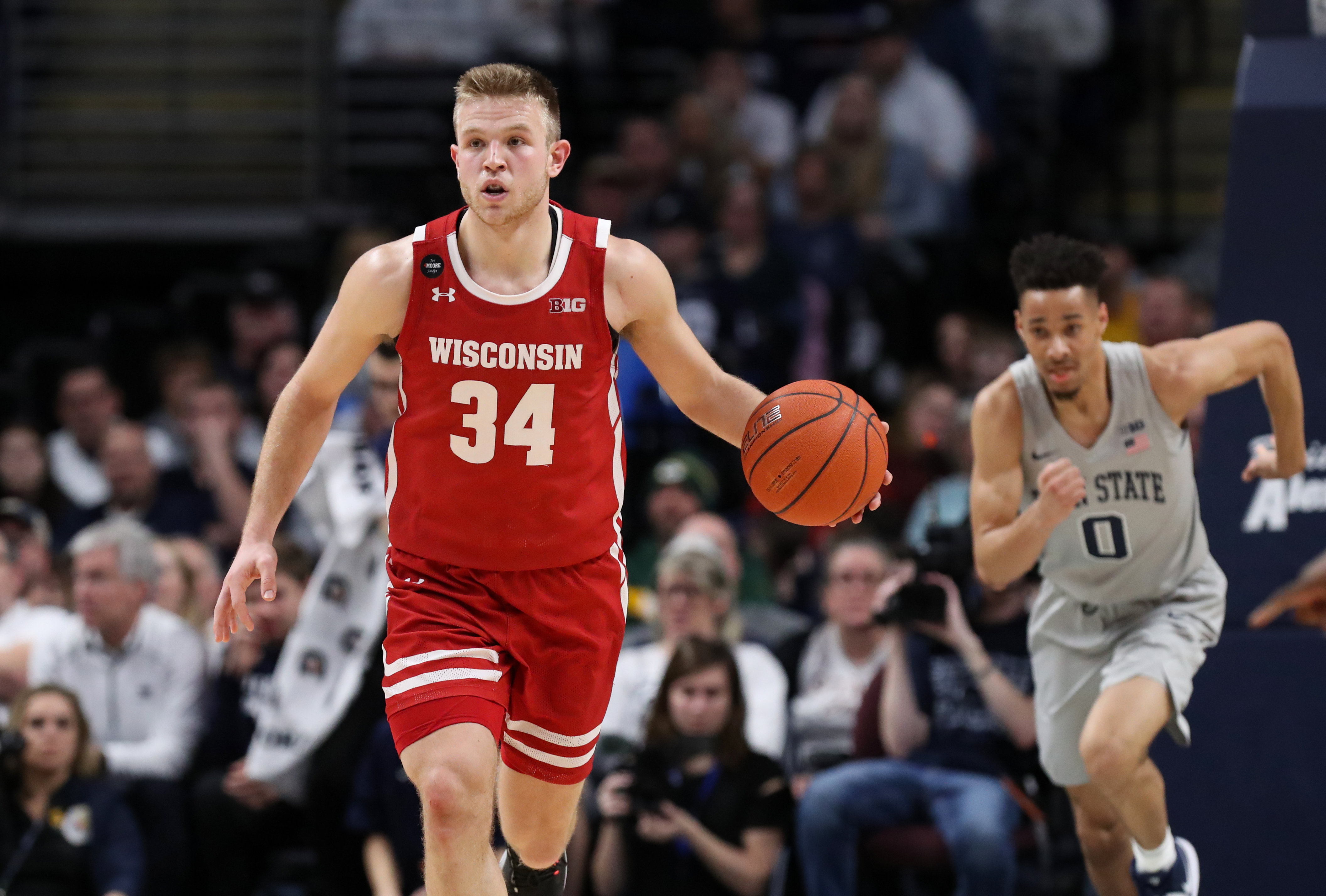 NCAA Basketball: Wisconsin at Penn State