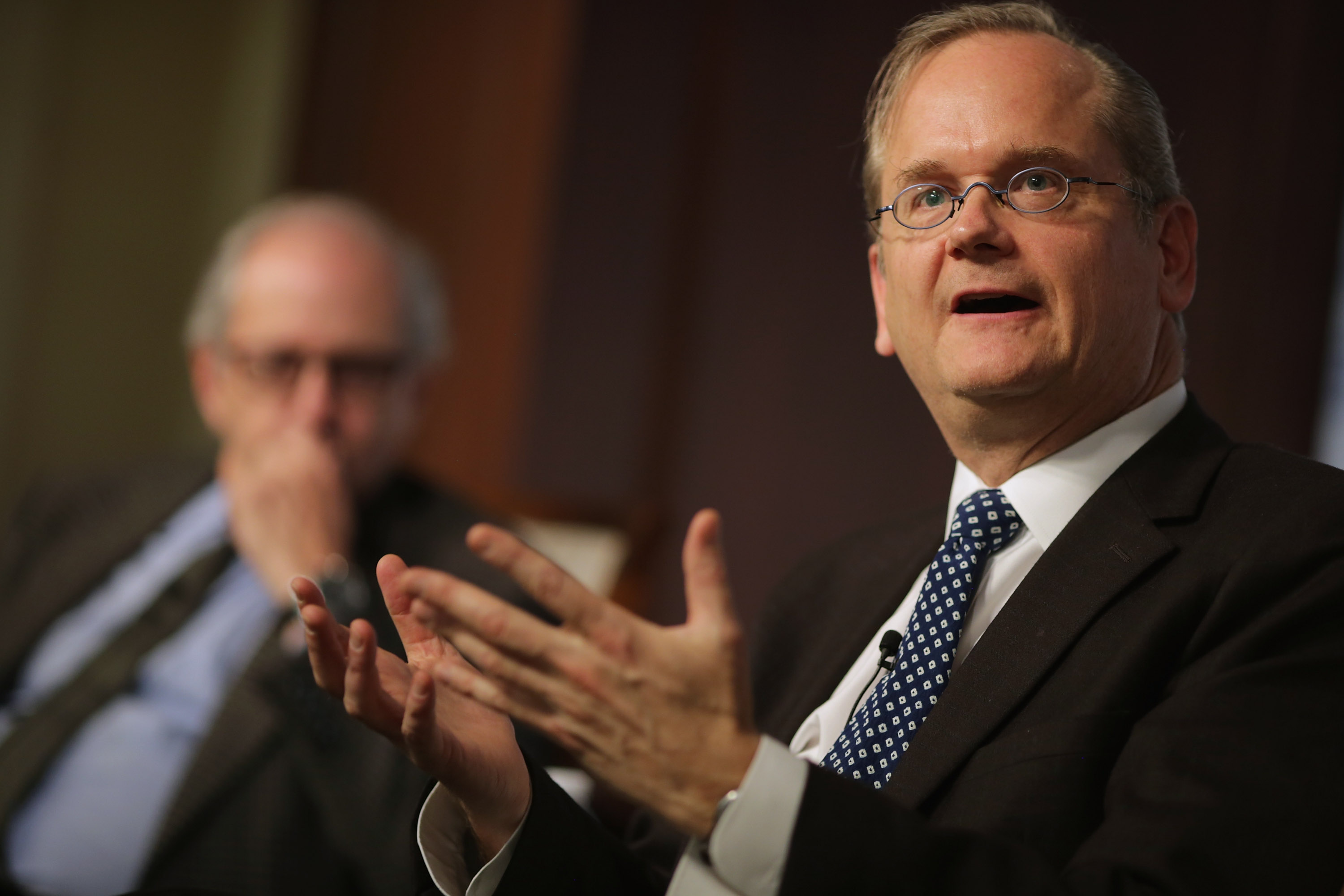 Lawrence Lessig Discusses Campaign Finance And The 2016 Election