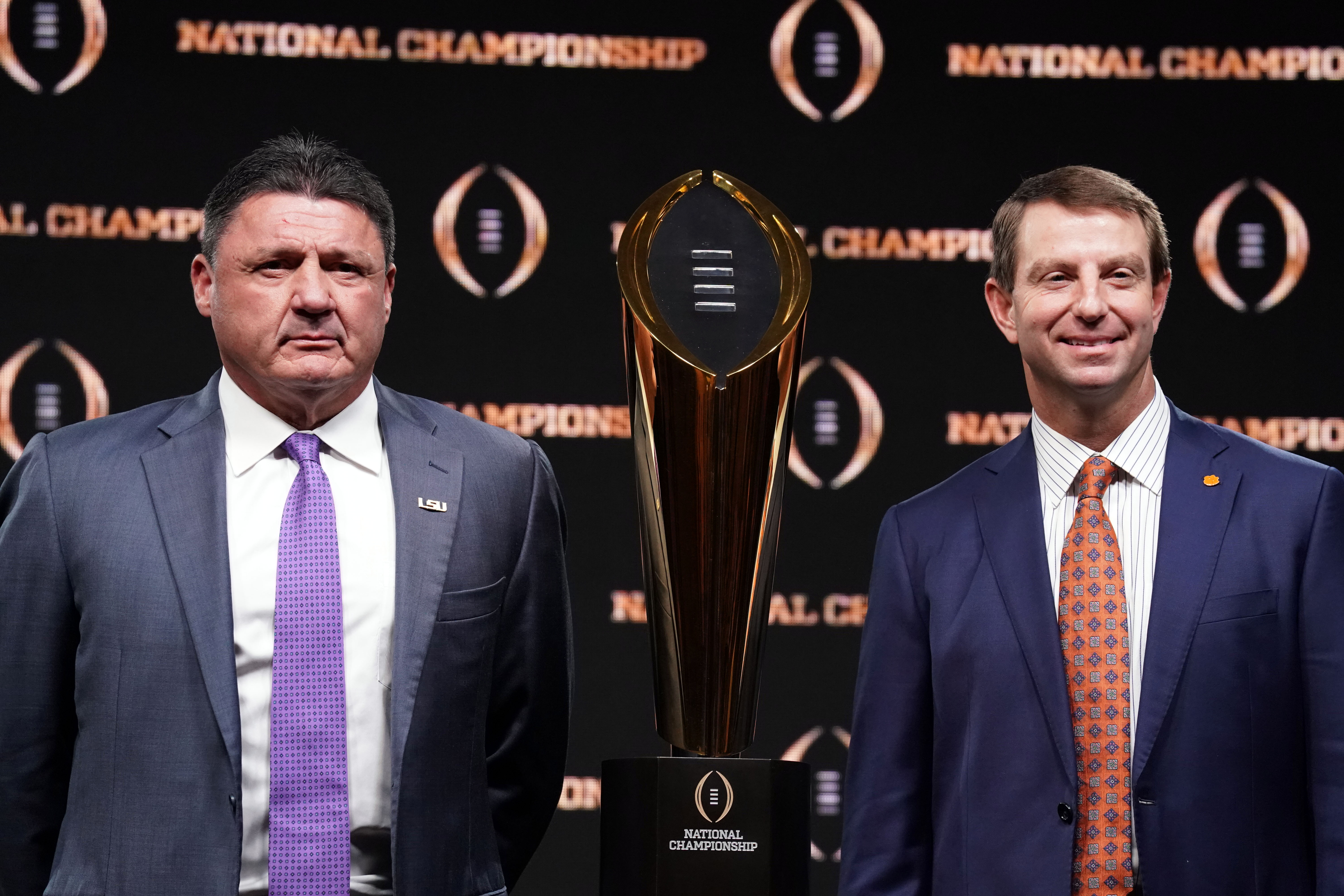 NCAA Football: College Football Playoff National Championship-Head Coaches Press Conference