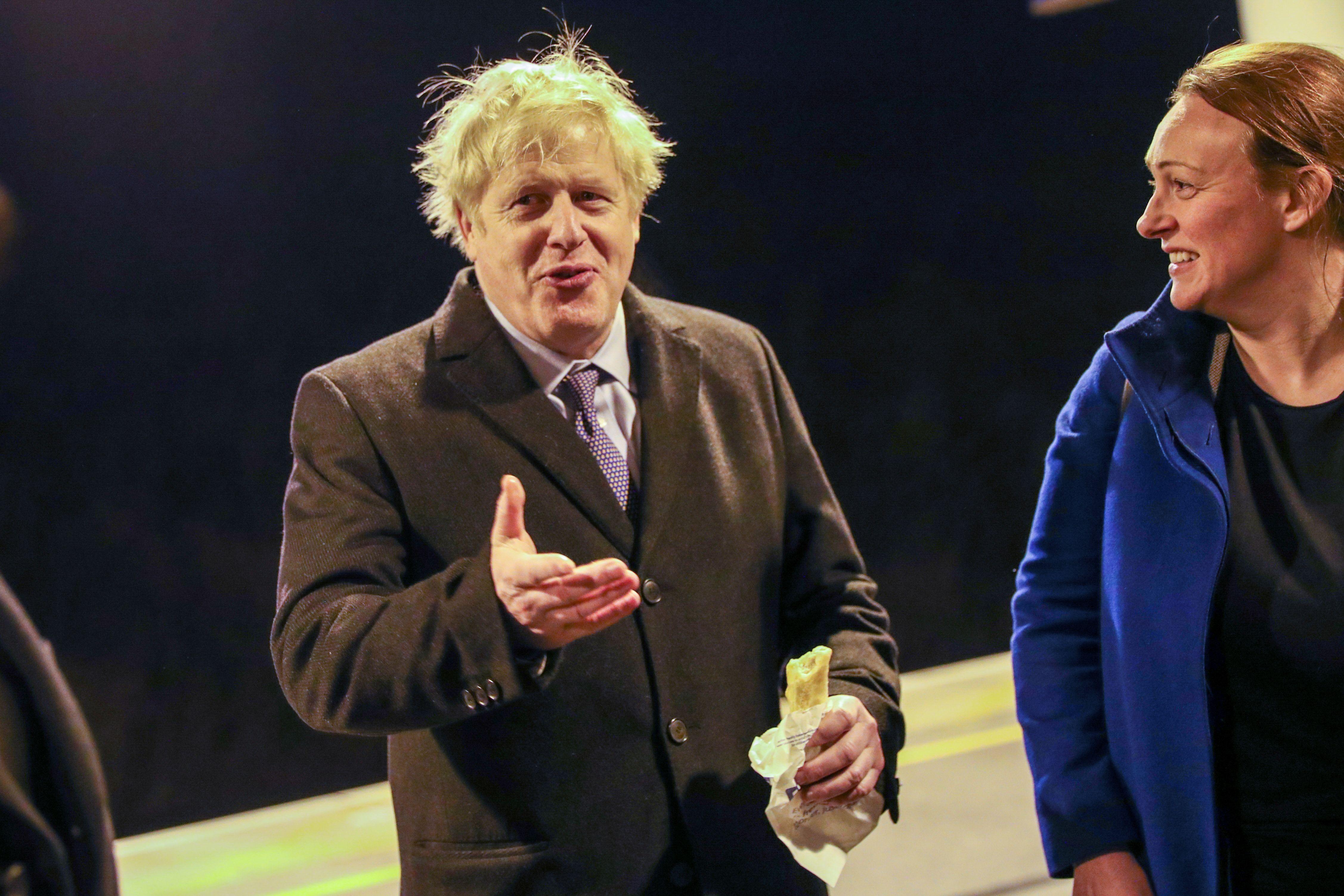 Boris Johnson's government policy of Universal Credit is harming Greggs