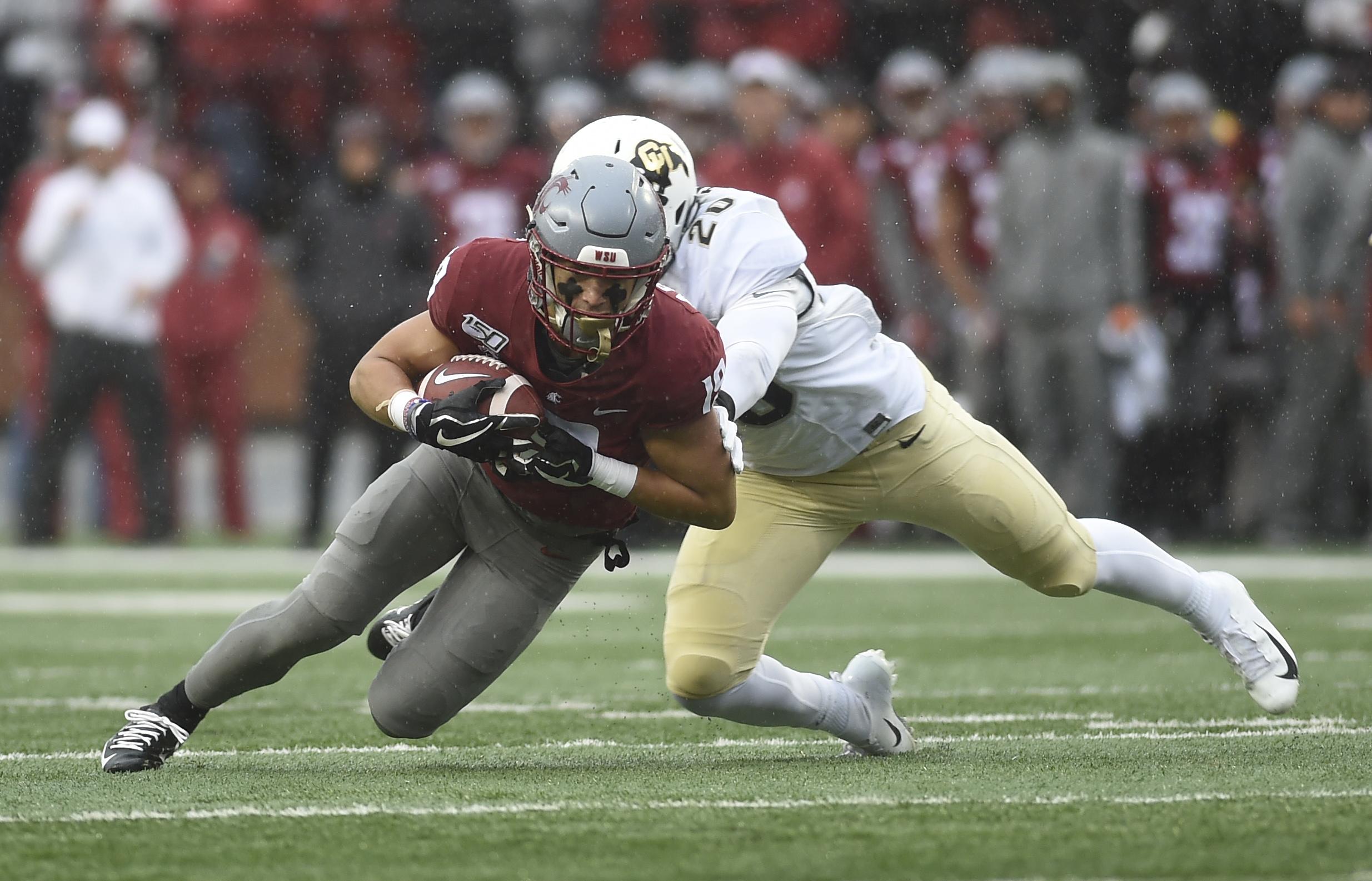NCAA Football: Colorado at Washington State