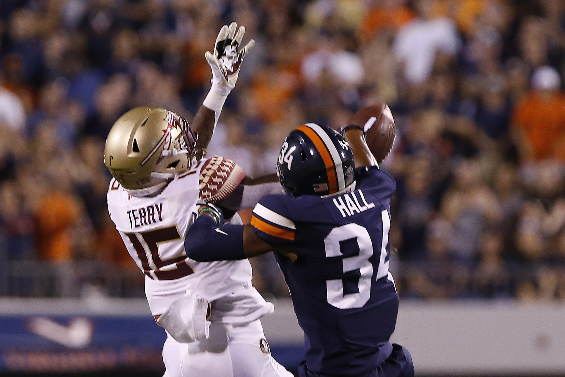 NCAA Football: Florida State at Virginia