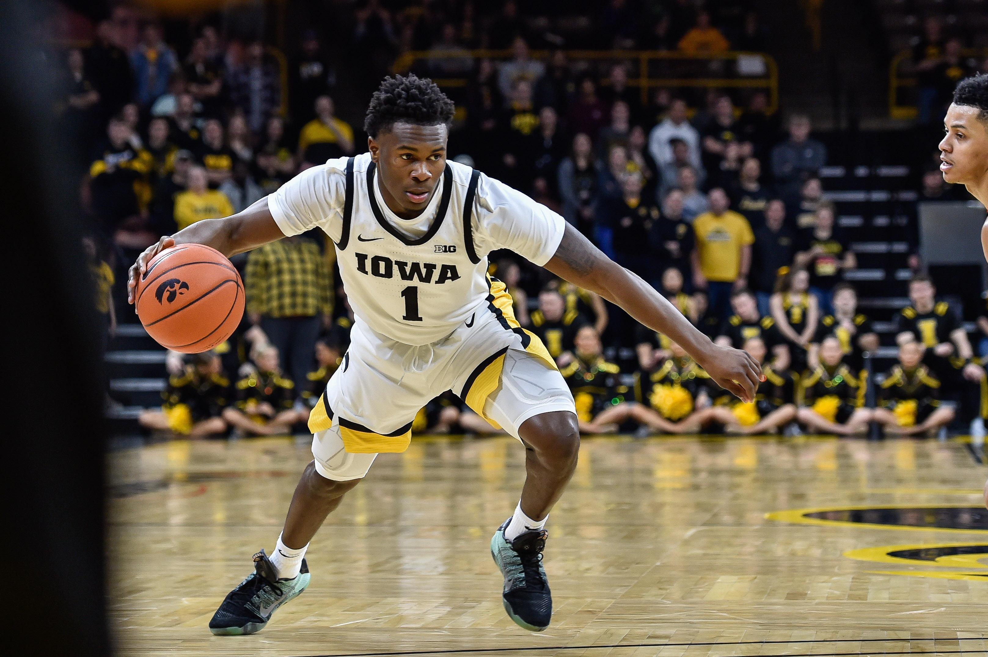 NCAA Basketball: Maryland at Iowa