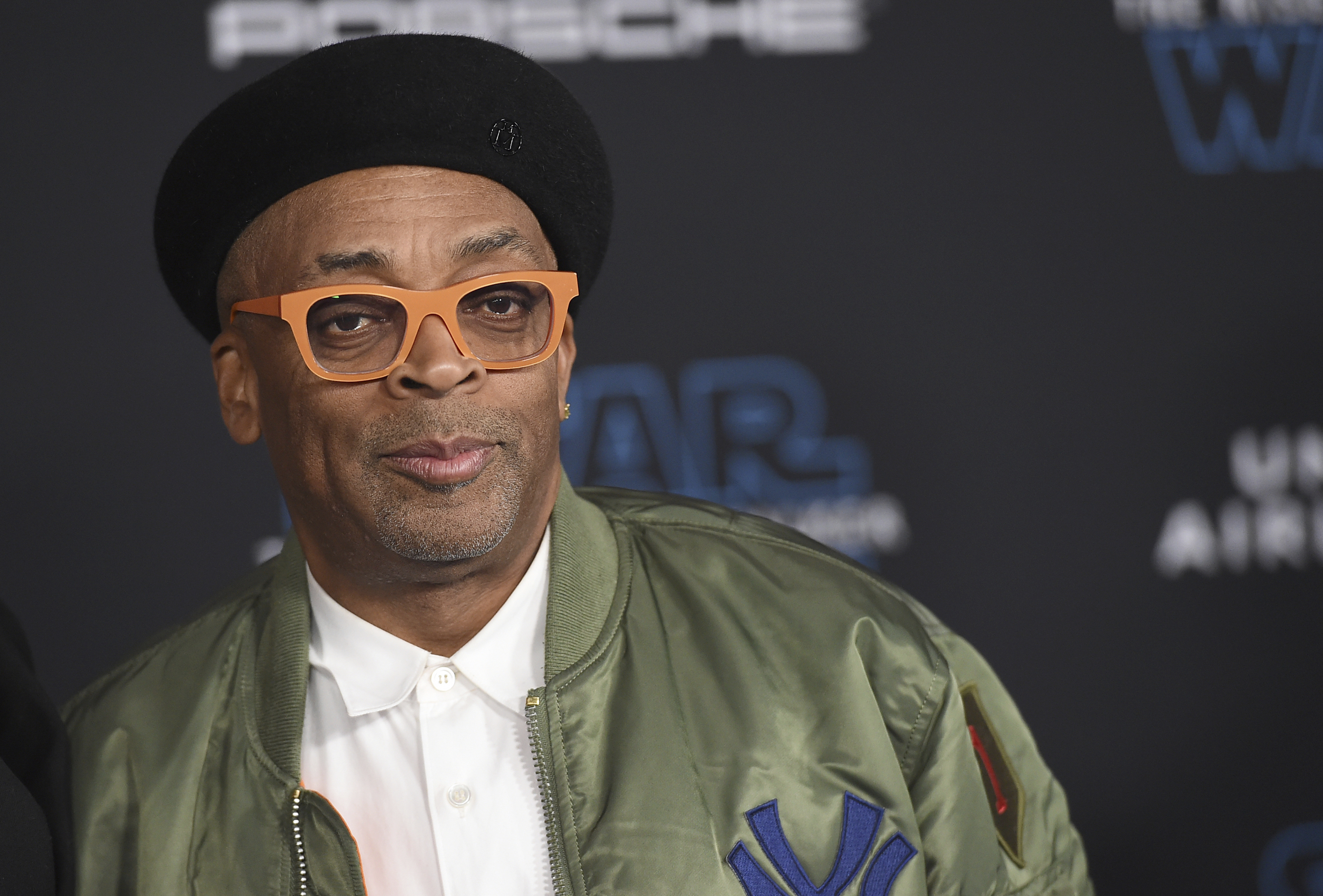 "Spike Lee arrives at the world premiere of ""Star Wars: The Rise of Skywalker"" in Los Angeles in December."
