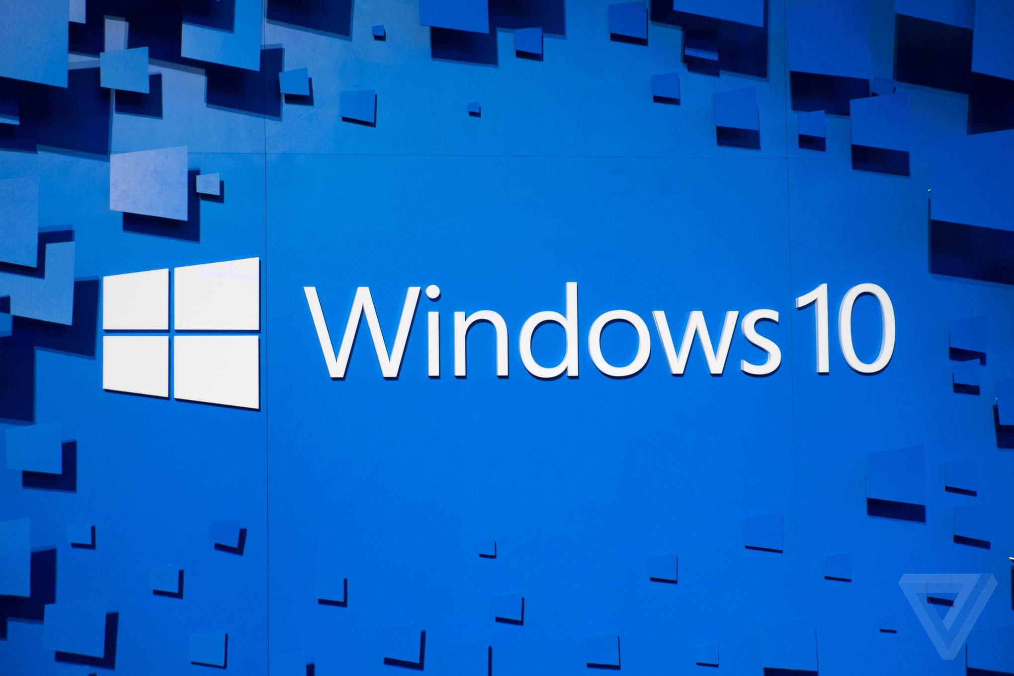 Microsoft Windows 10 stock
