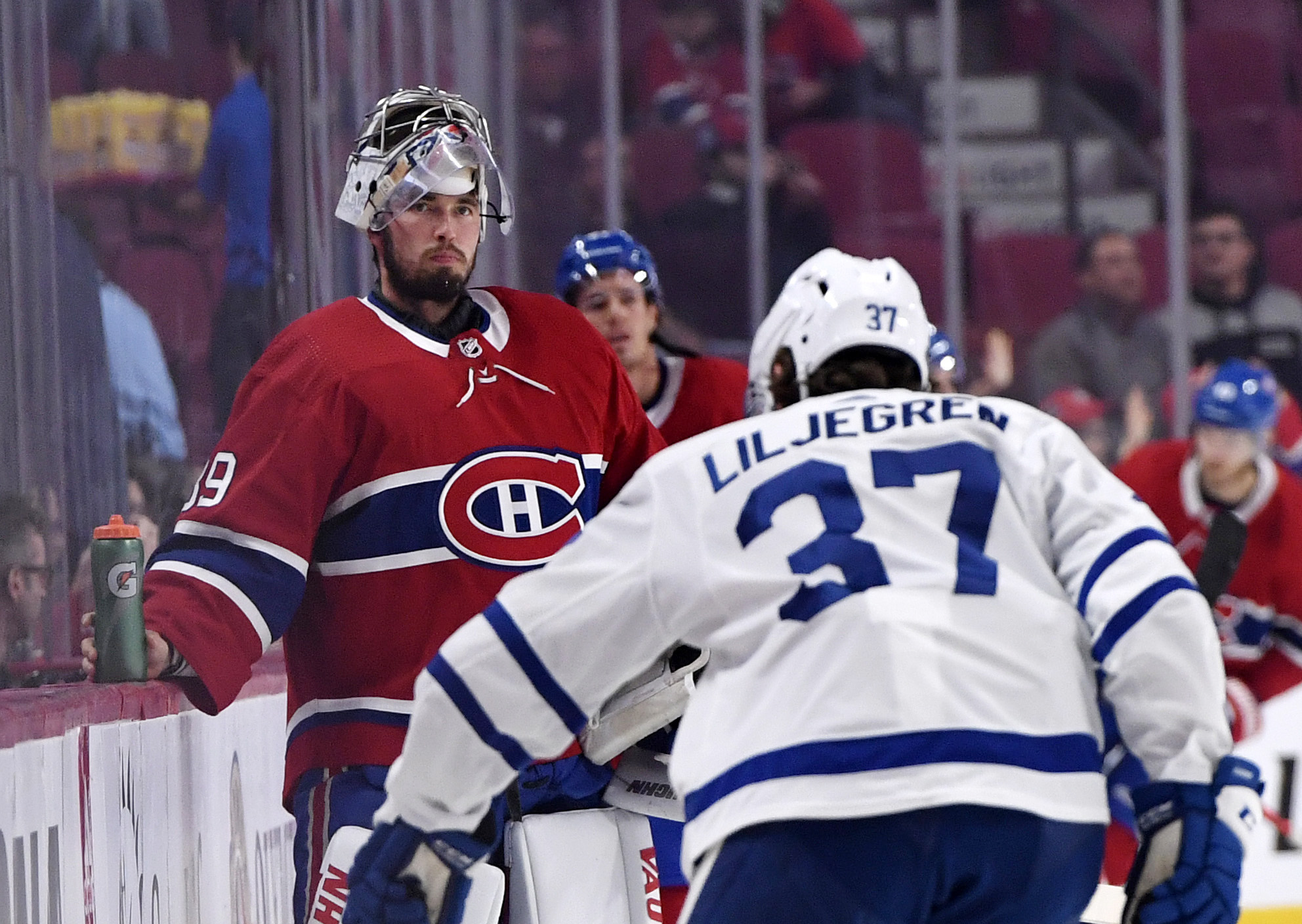 NHL: Preseason-Toronto Maple Leafs at Montreal Canadiens