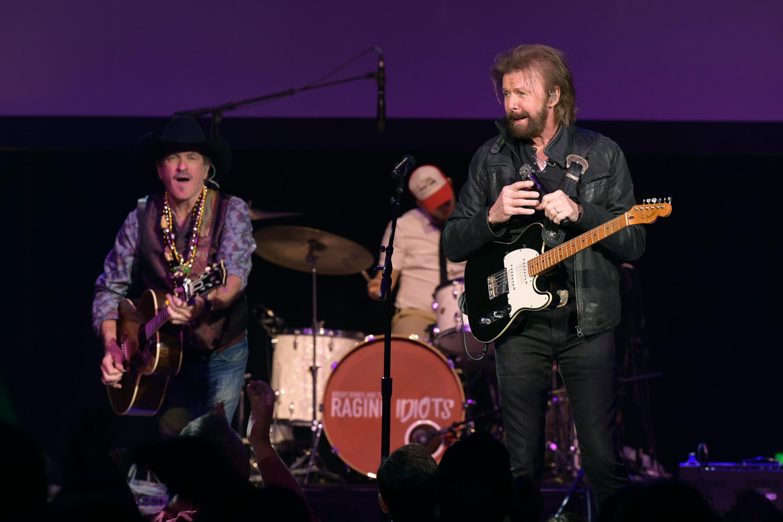 Brooks & Dunn perform at the Bobby Bones & The Raging Idiots' 5th Annual Million Dollar Show at Ryman Auditorium on Monday.
