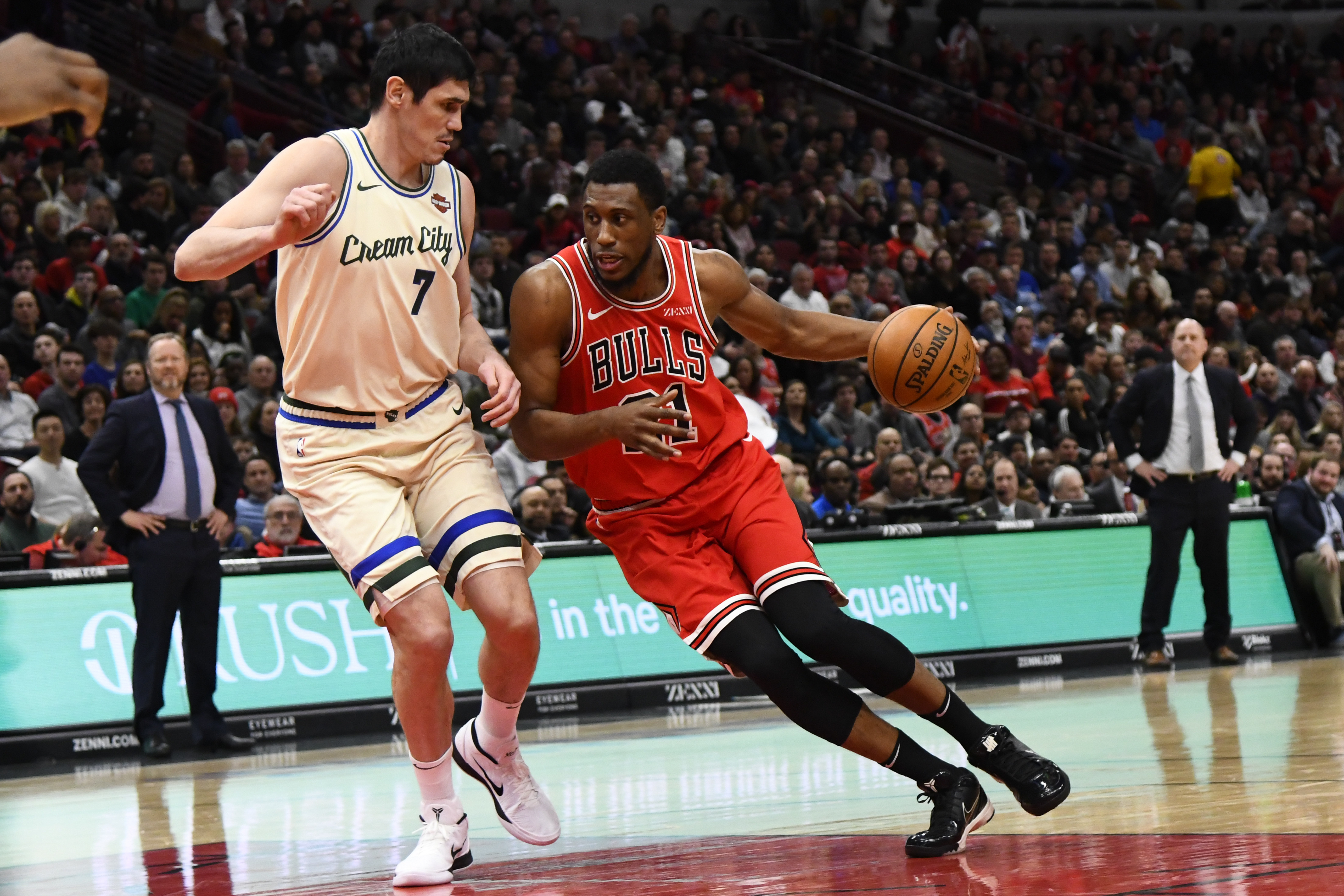 Since there don't seem to be enough minutes for both him and Lauri Markkanen, it's time for the Bulls to trade Thaddeus Young.