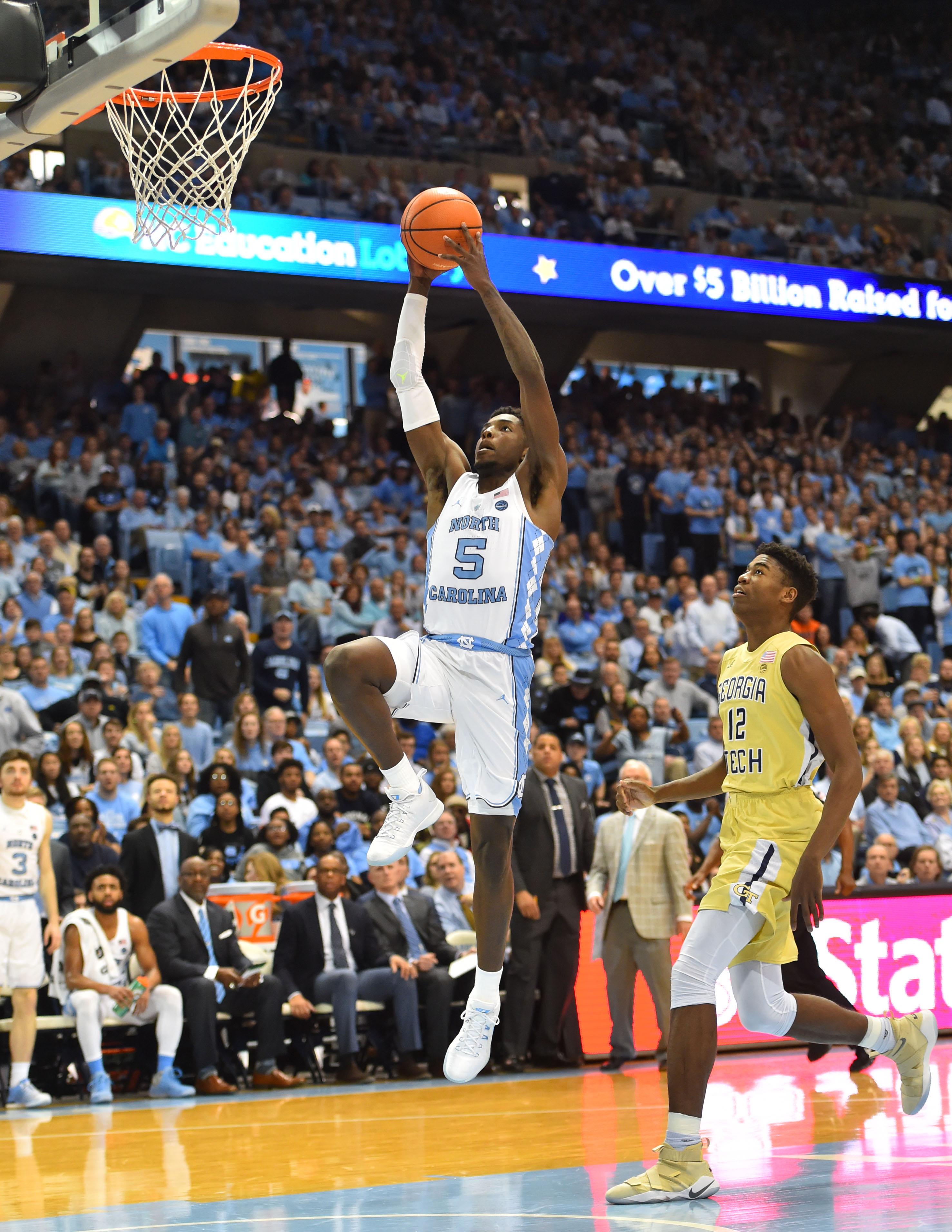 NCAA Basketball: Georgia Tech at North Carolina