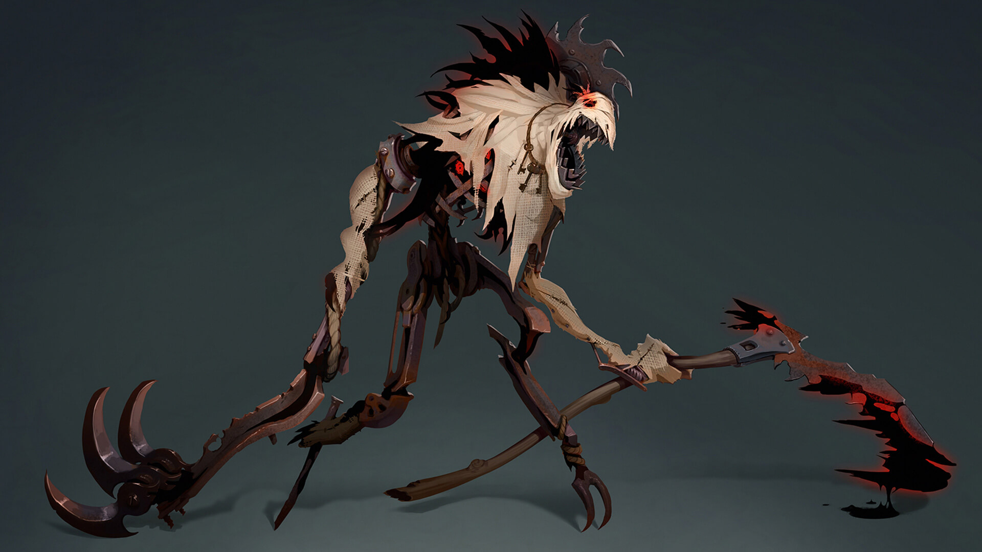 A model for Fiddlesticks' visual update in League of Legends