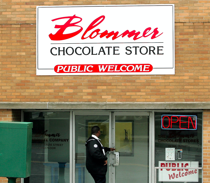 Blommer Chocolate Co., 600 W. Kinzie St.