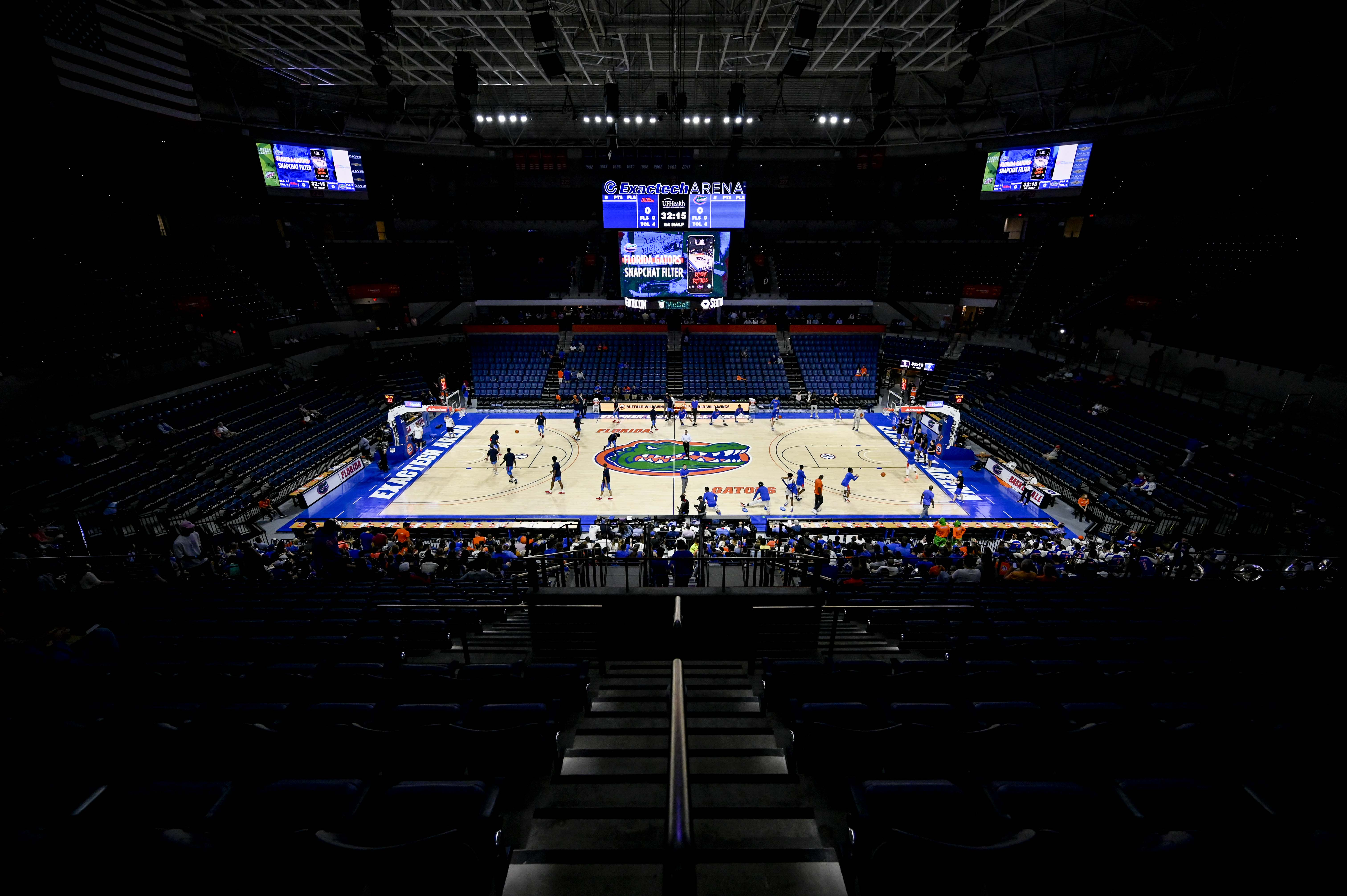 NCAA Basketball: Mississippi at Florida