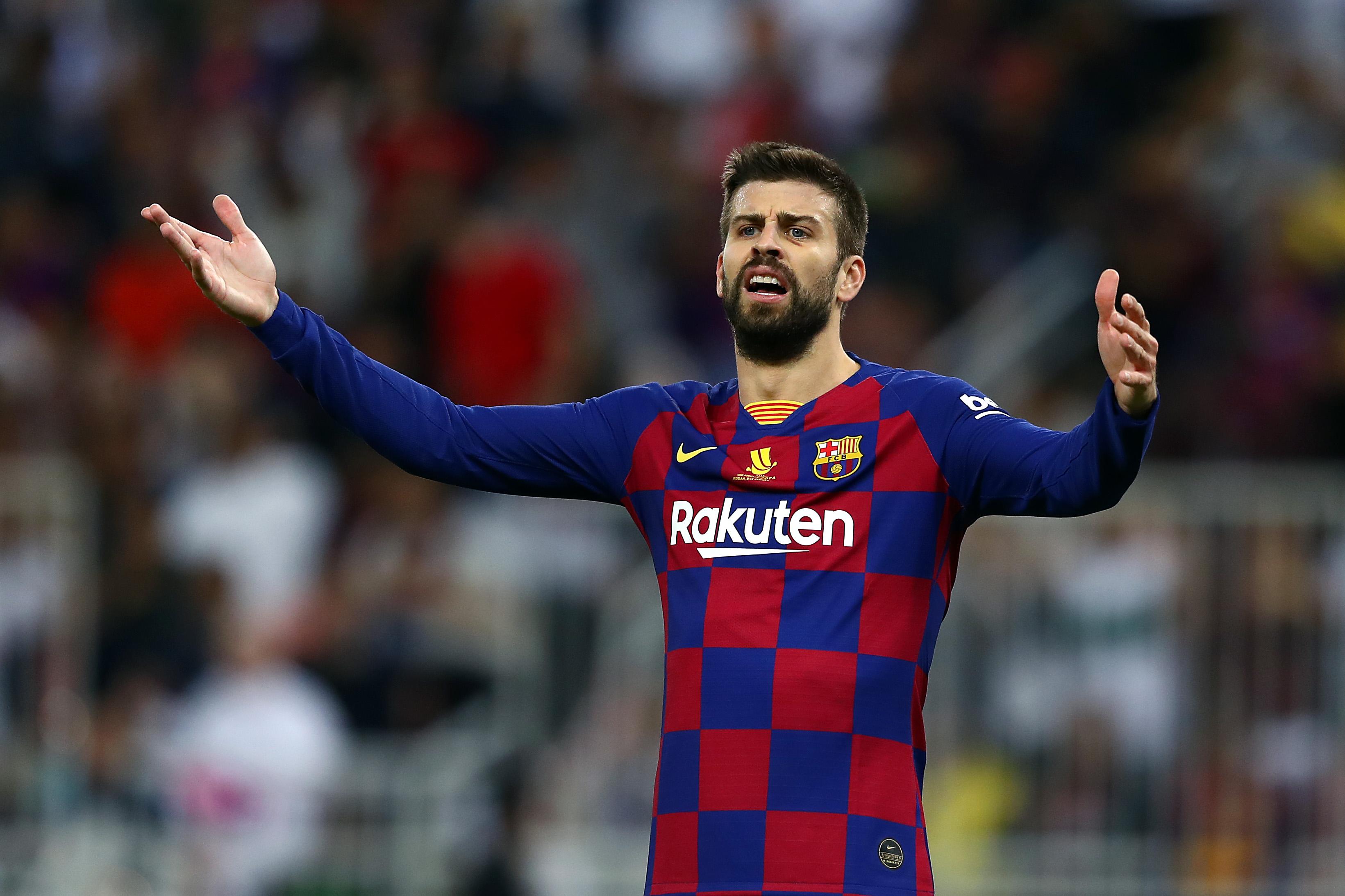 FC Barcelona v Club Atletico de Madrid - Supercopa de Espana: Semi Final