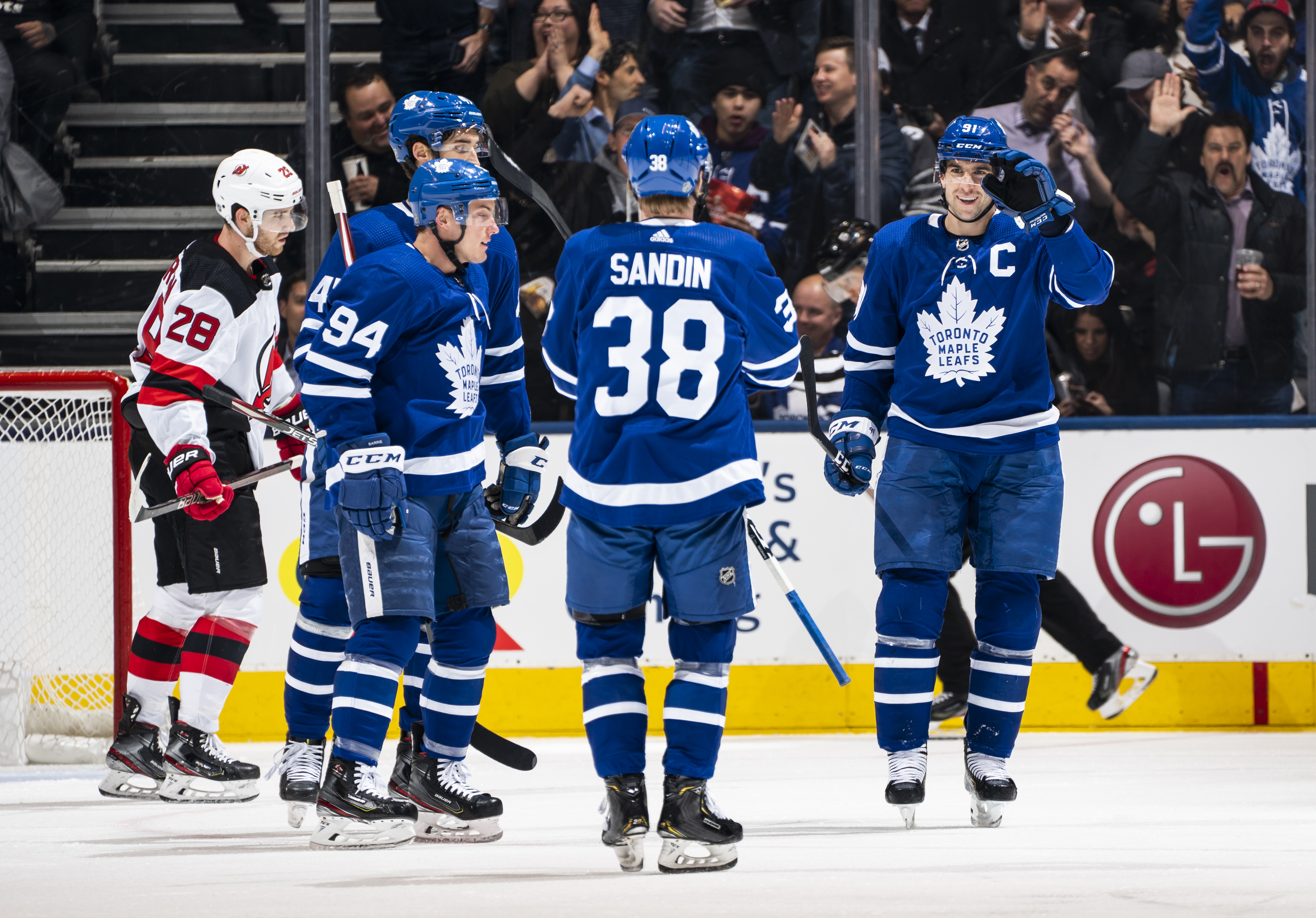 New Jersey Devils v Toronto Maple Leafs