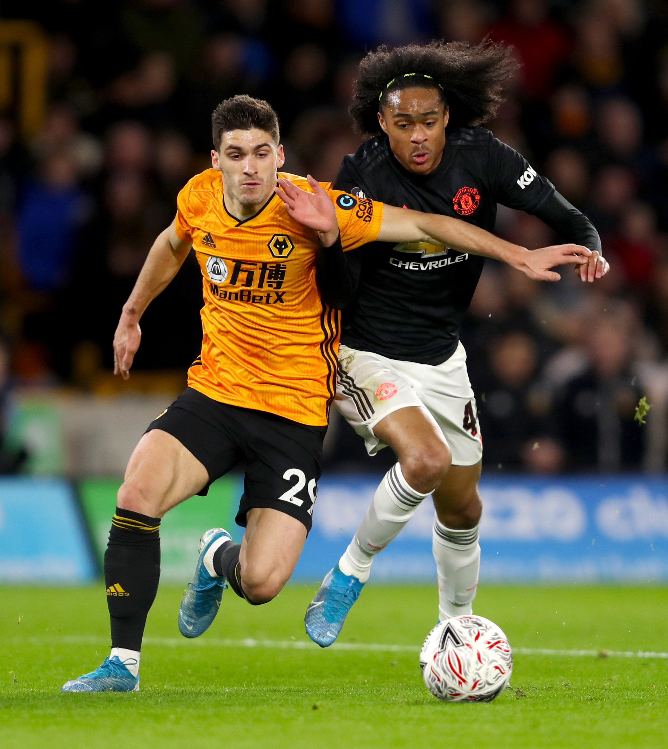 Wolverhampton Wanderers v Manchester United - FA Cup - Third Round - Molineux