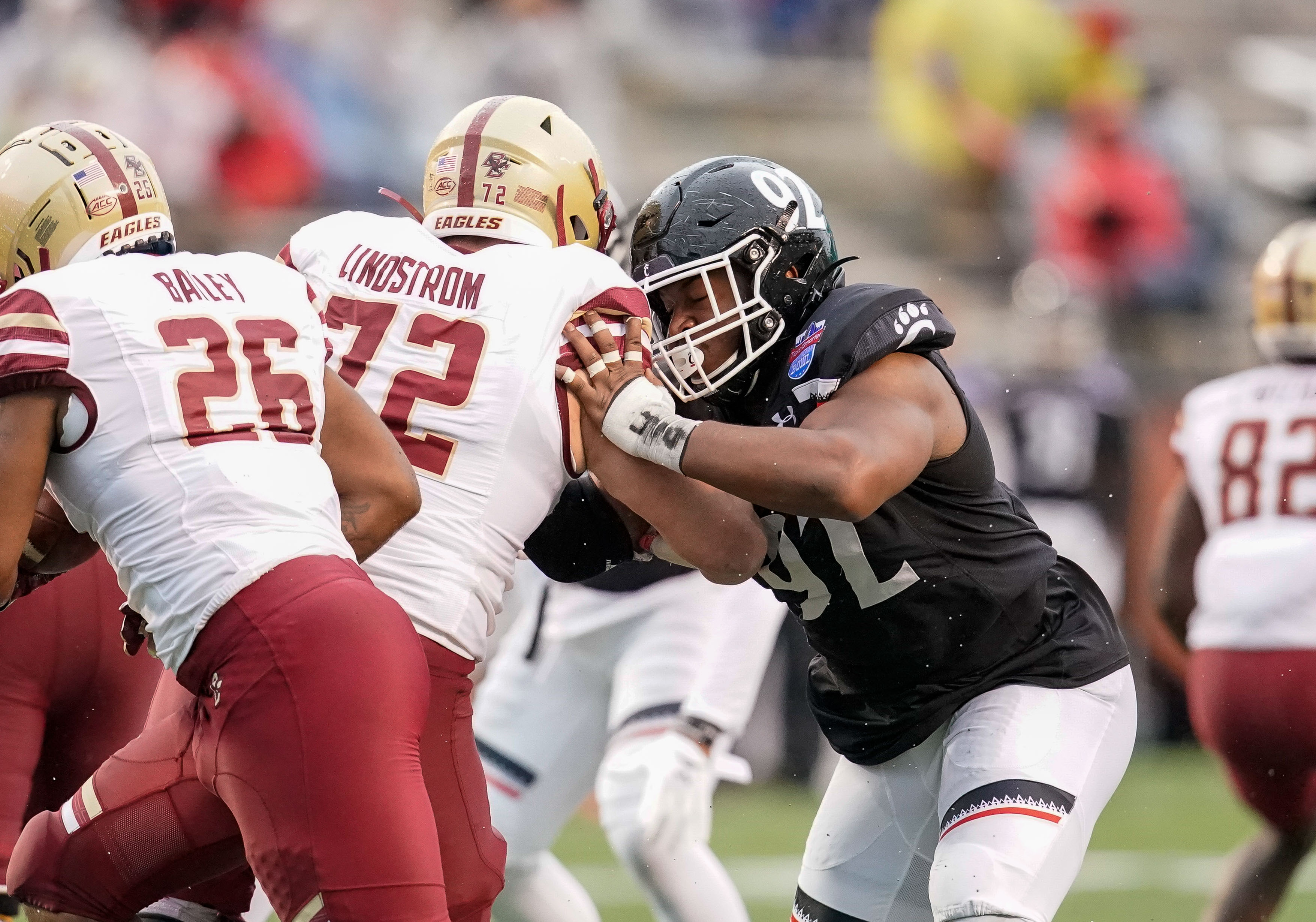 NCAA Football: Birmingham Bowl-Boston College vs Cincinnati